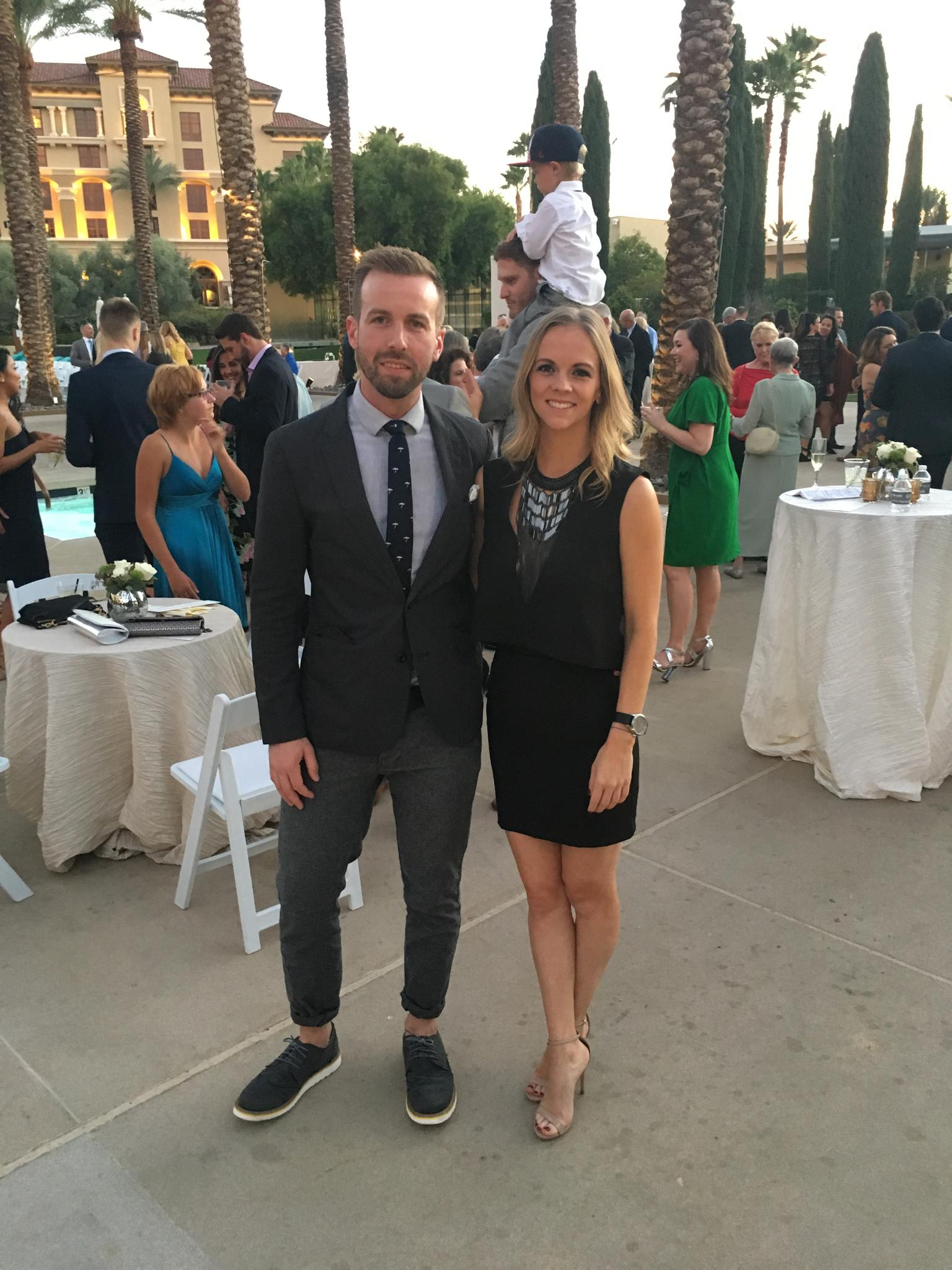 Tori and Derek's wedding in Las Vegas