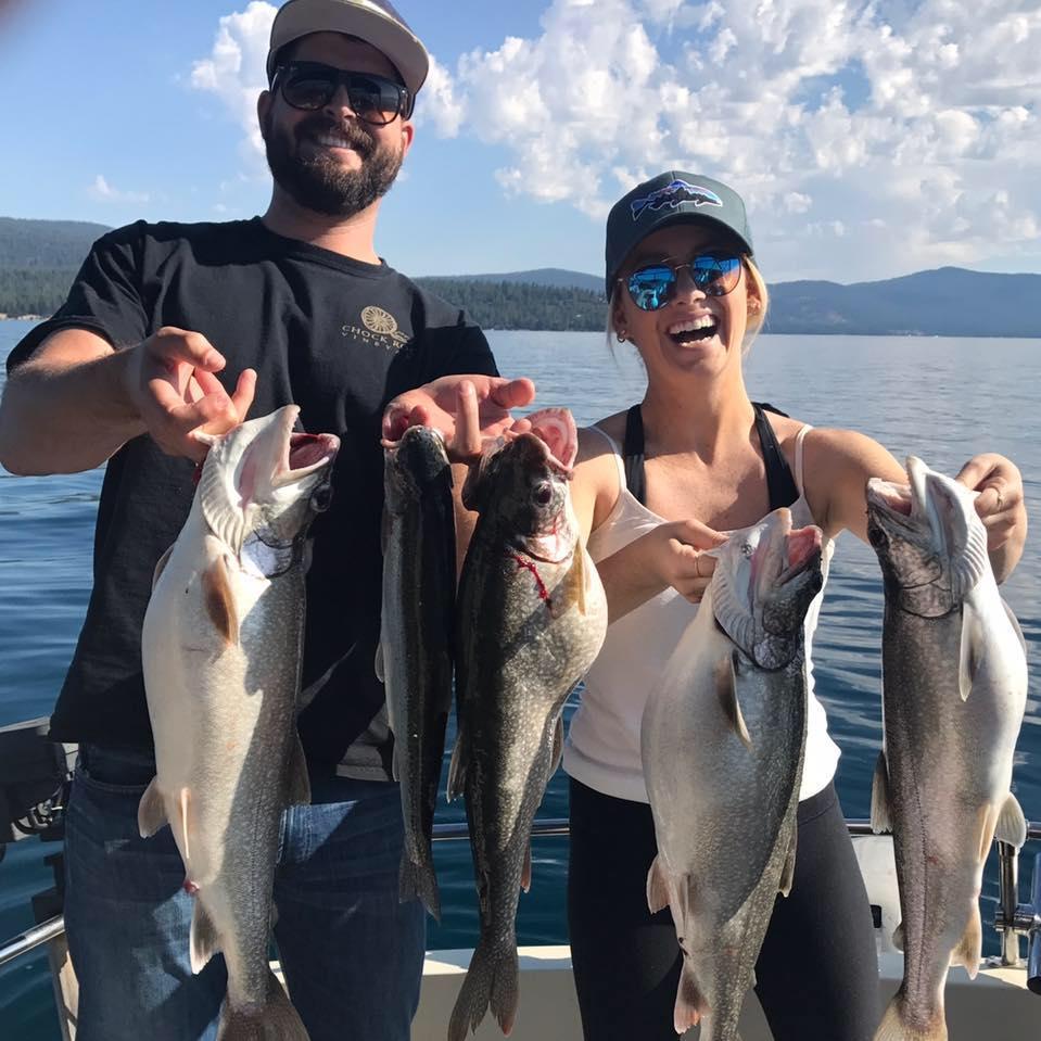 Fishing on Lake Tahoe