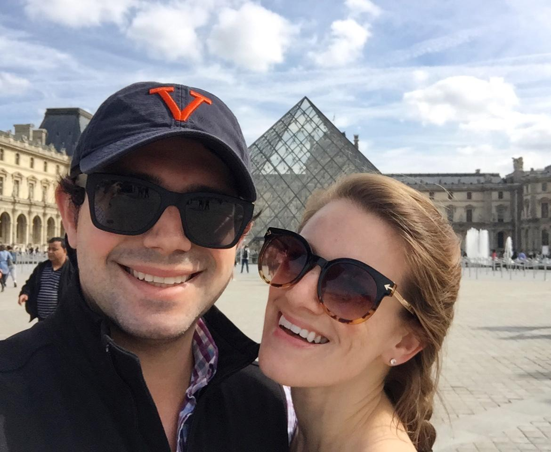The Louvre, France, September 2017
