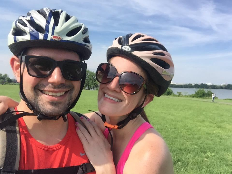 Biking to Virginia, July 2017
