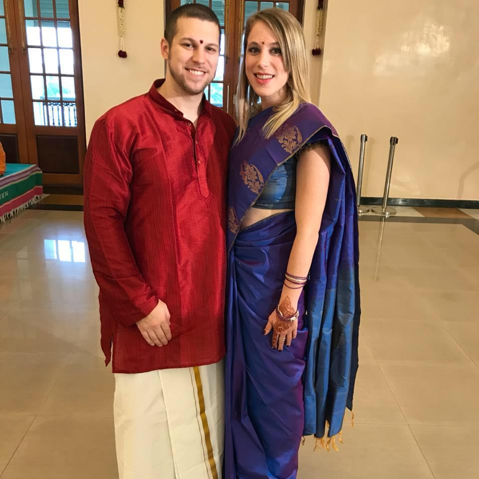 Chennai, India Wedding Ceremony for Bryan Seelig... never would have thought this is where we would get engaged!!