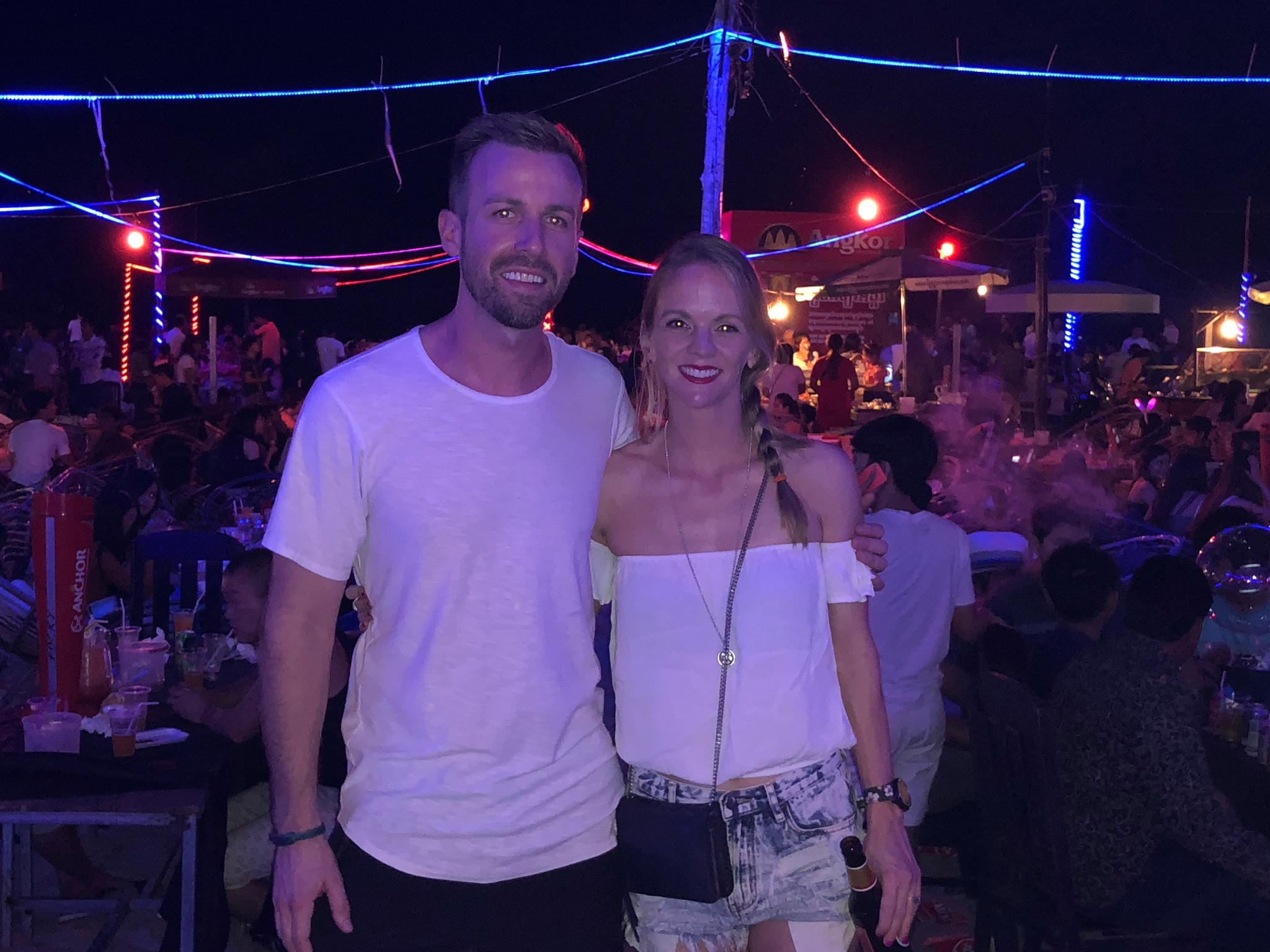 New Year's Eve in Sihanoukville, Cambodia