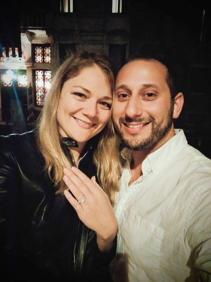 Engaged! - in Venice, Italy