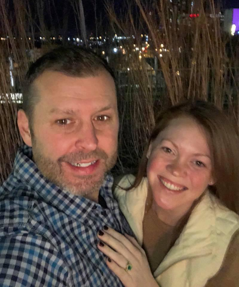 The night of our engagement - February 16, 2018