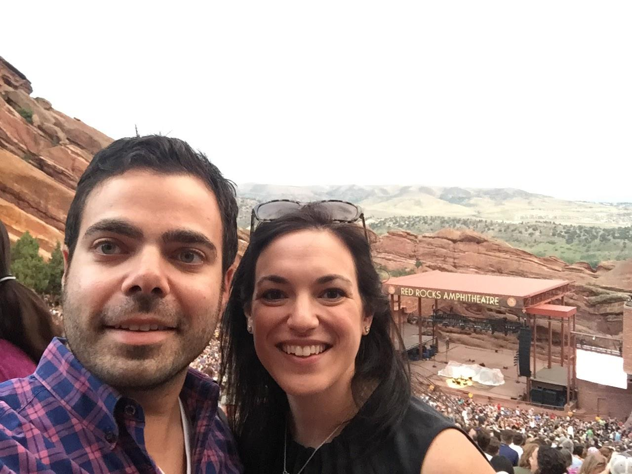 Seeing The Avett Brothers @ Red Rocks! (Denver, CO)