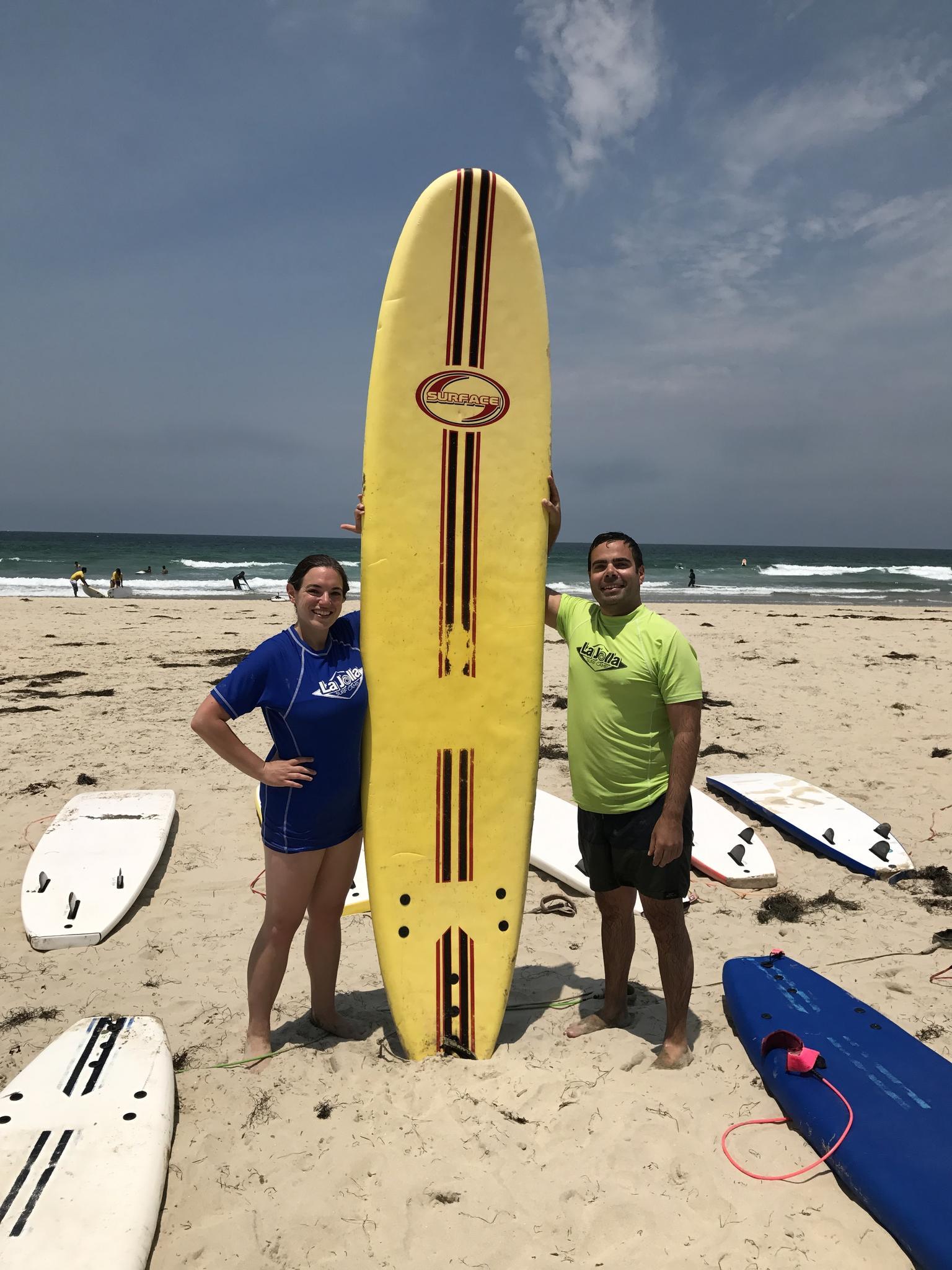 We surf now! (San Diego, CA)
