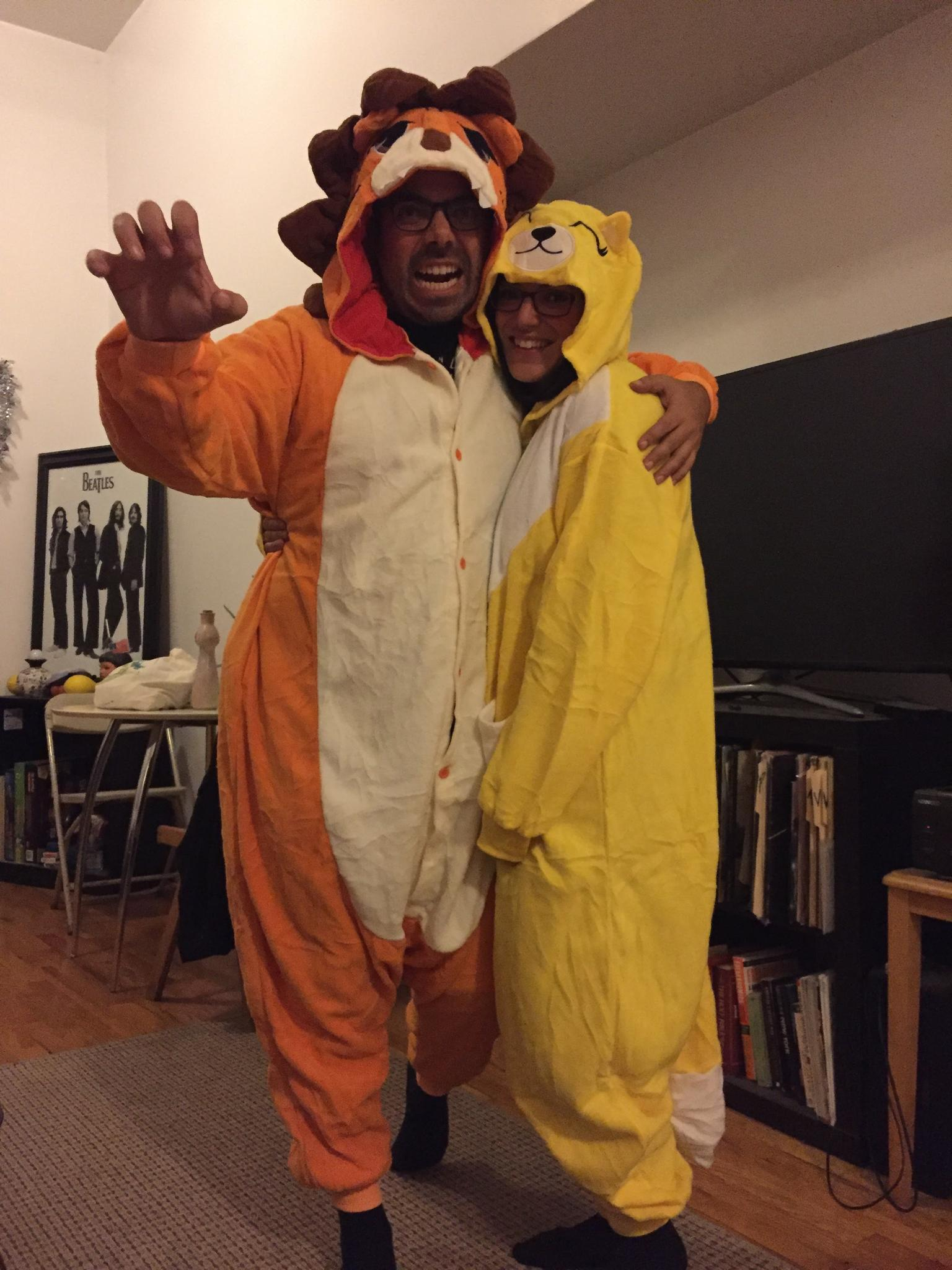The only Halloween costumes we own (and will ever own)
