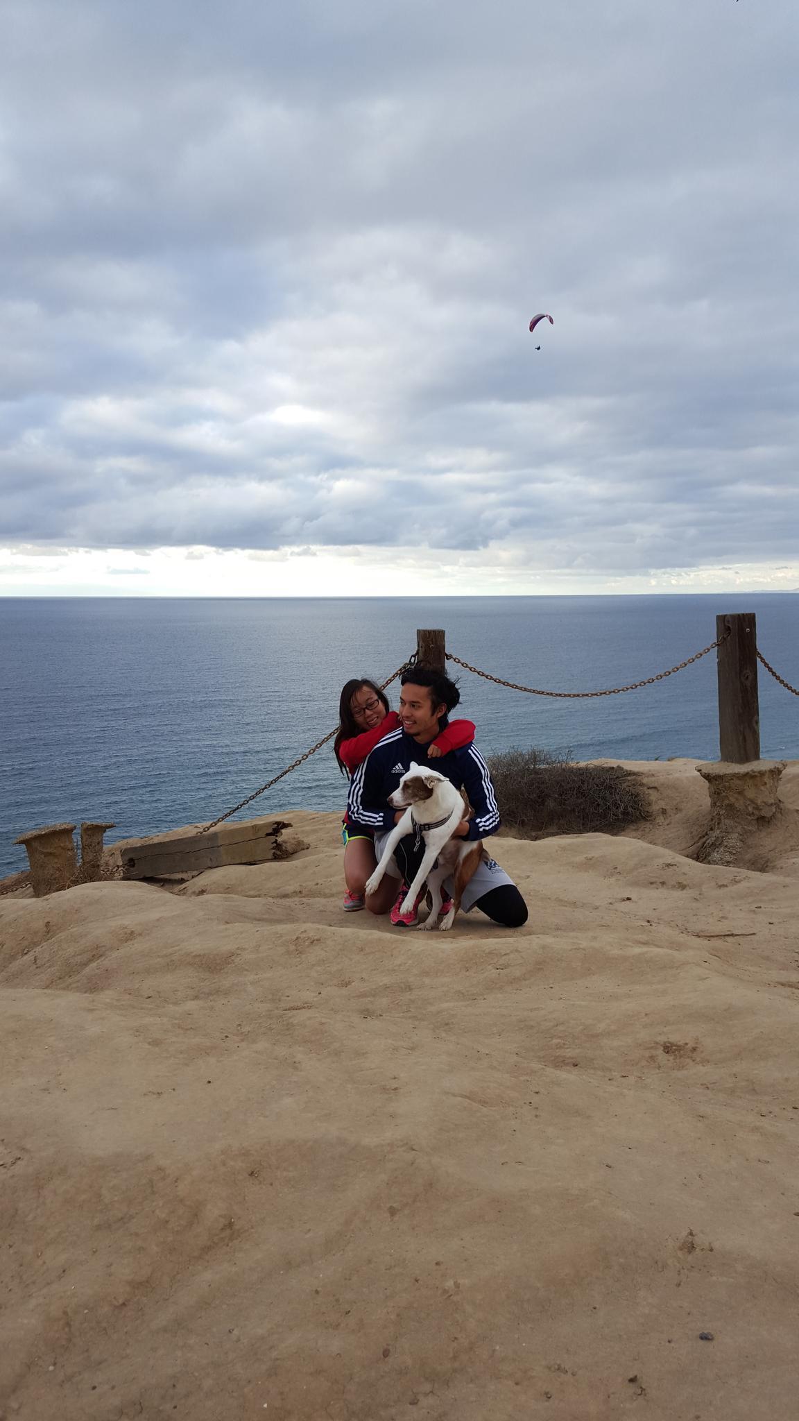 La Jolla with Charlie