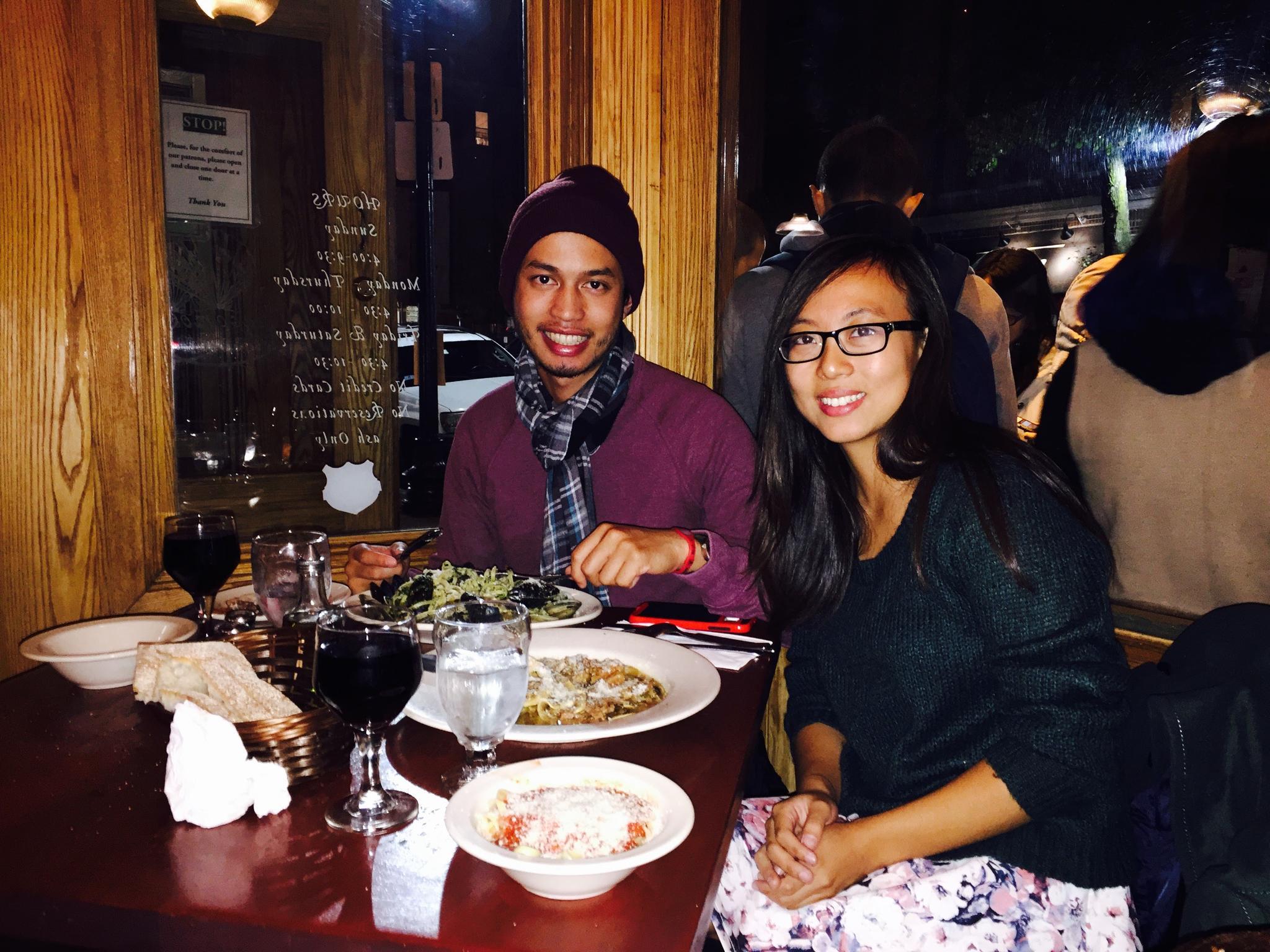 Little Italy in Boston, November 2015