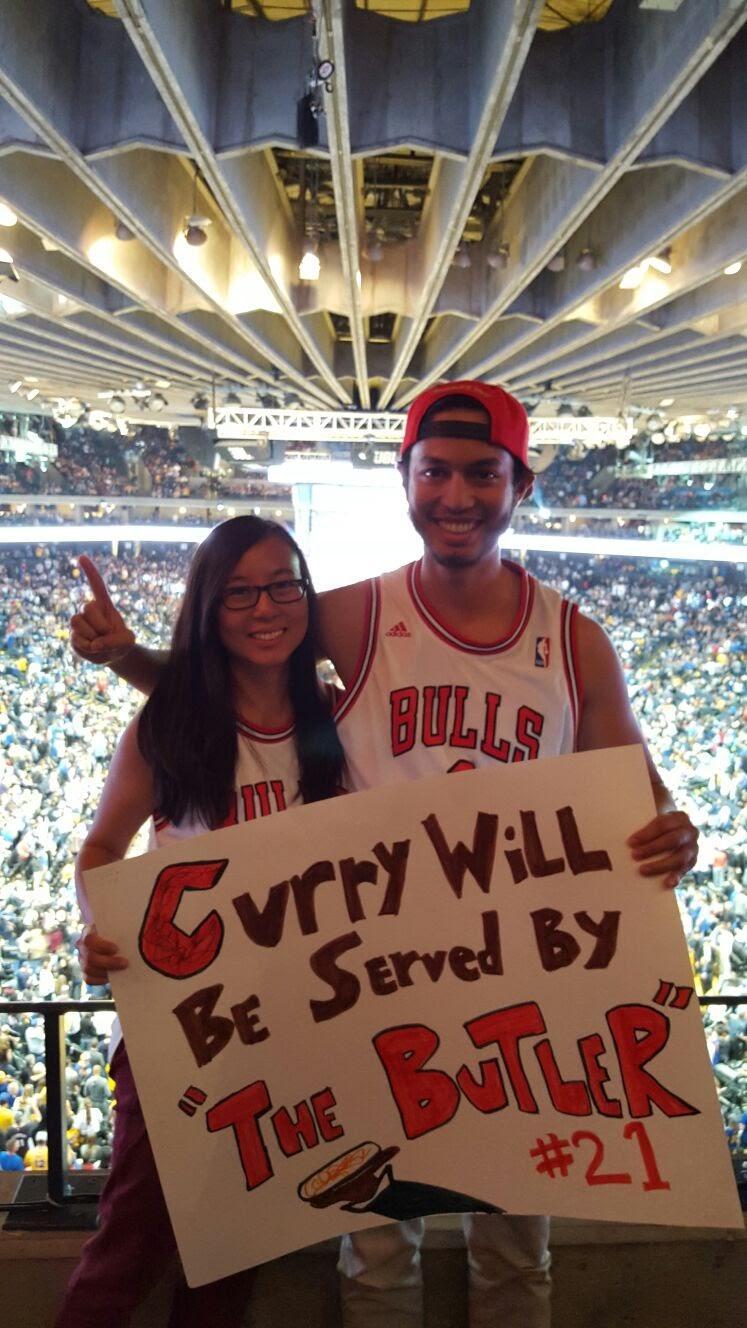Bulls vs. Warriors, November 2015