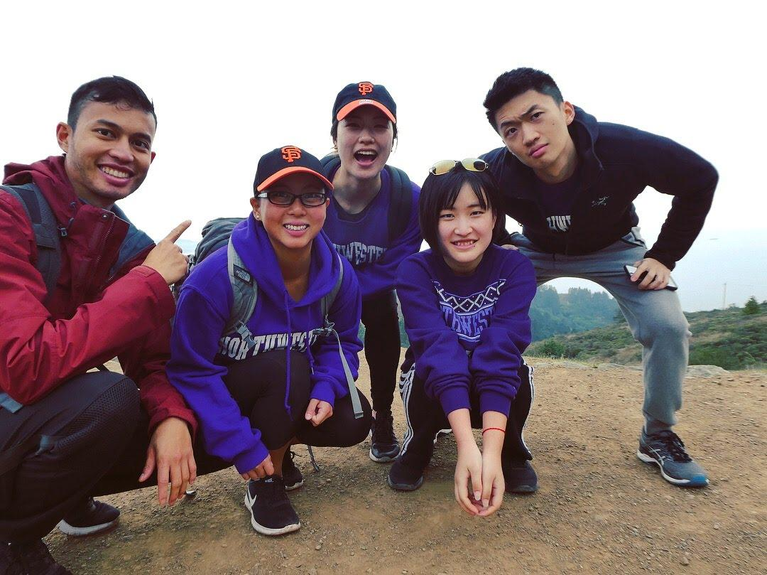 Hiking Mt. Tam, December 2017