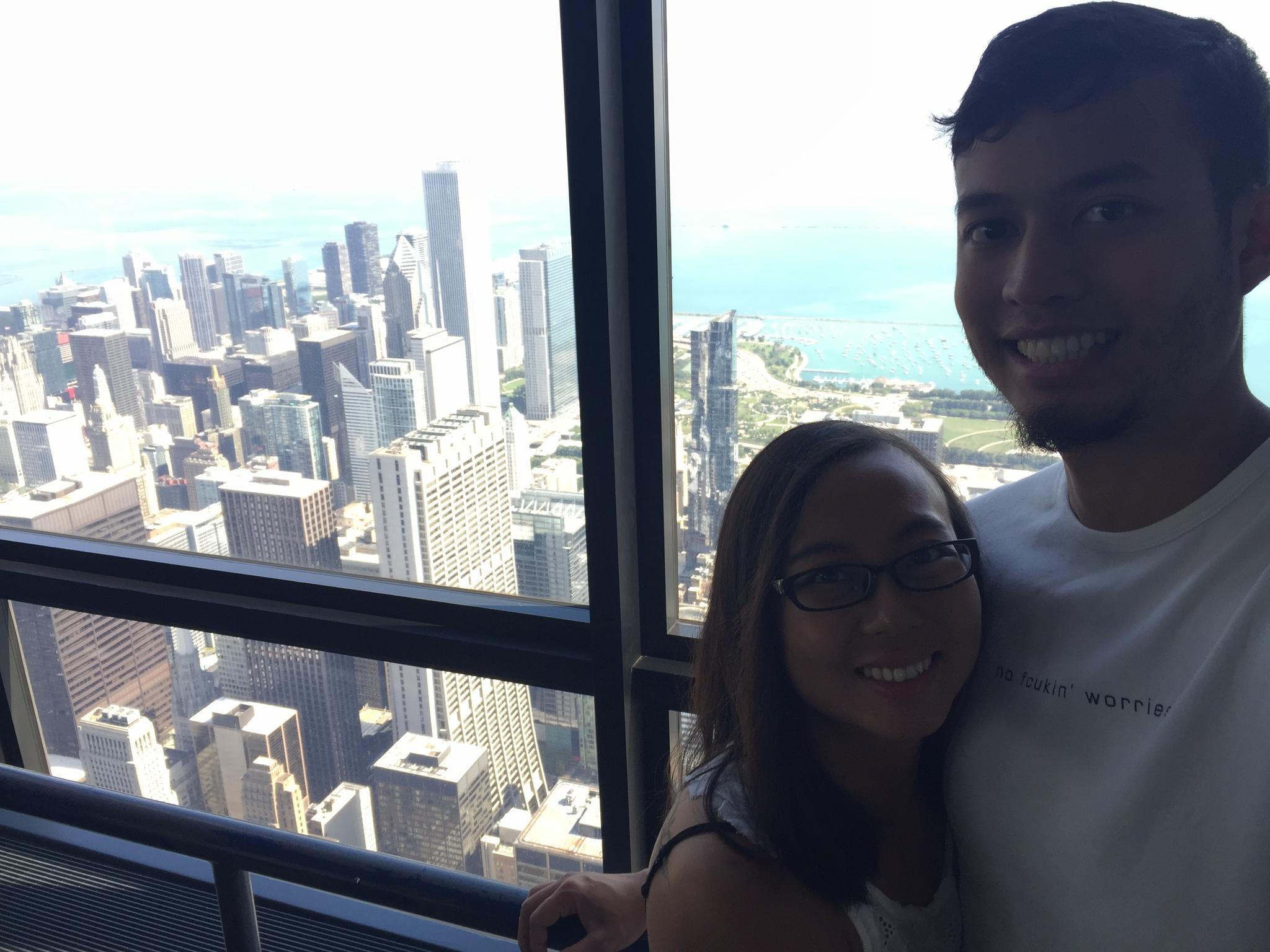 Willis Tower, Floor 93, September 2016.