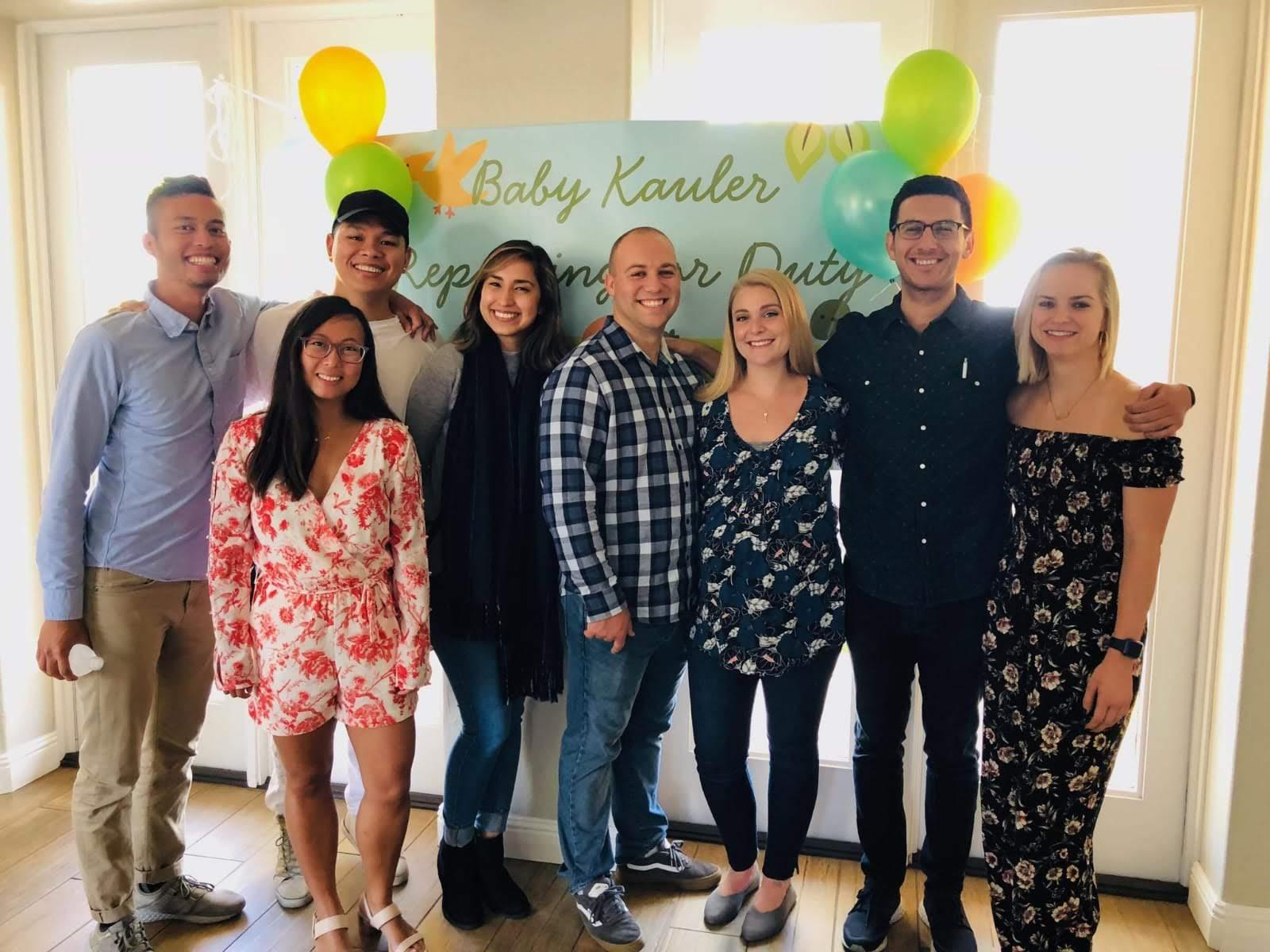 Mary's baby shower, October 2018