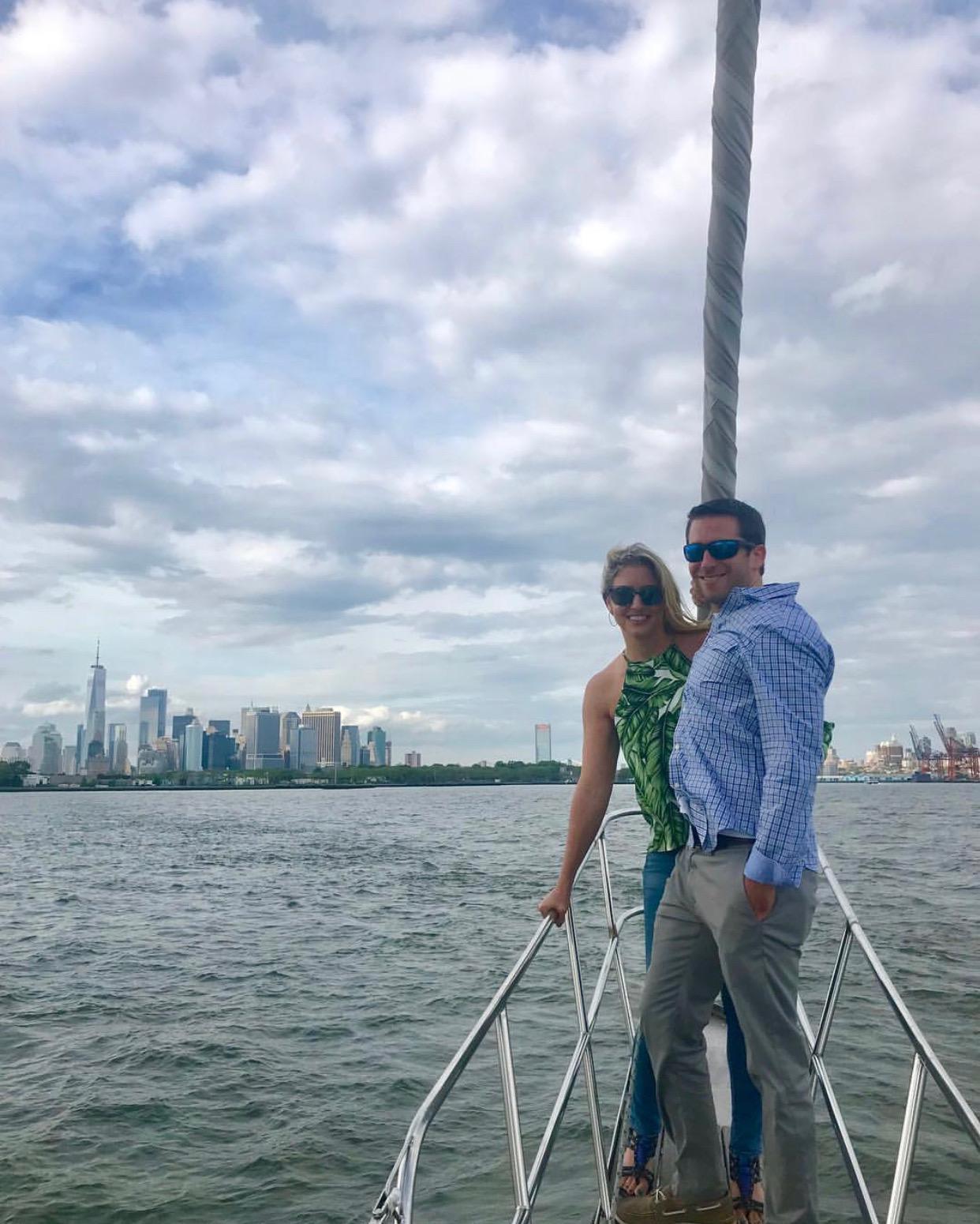 New York Harbor, May 2018