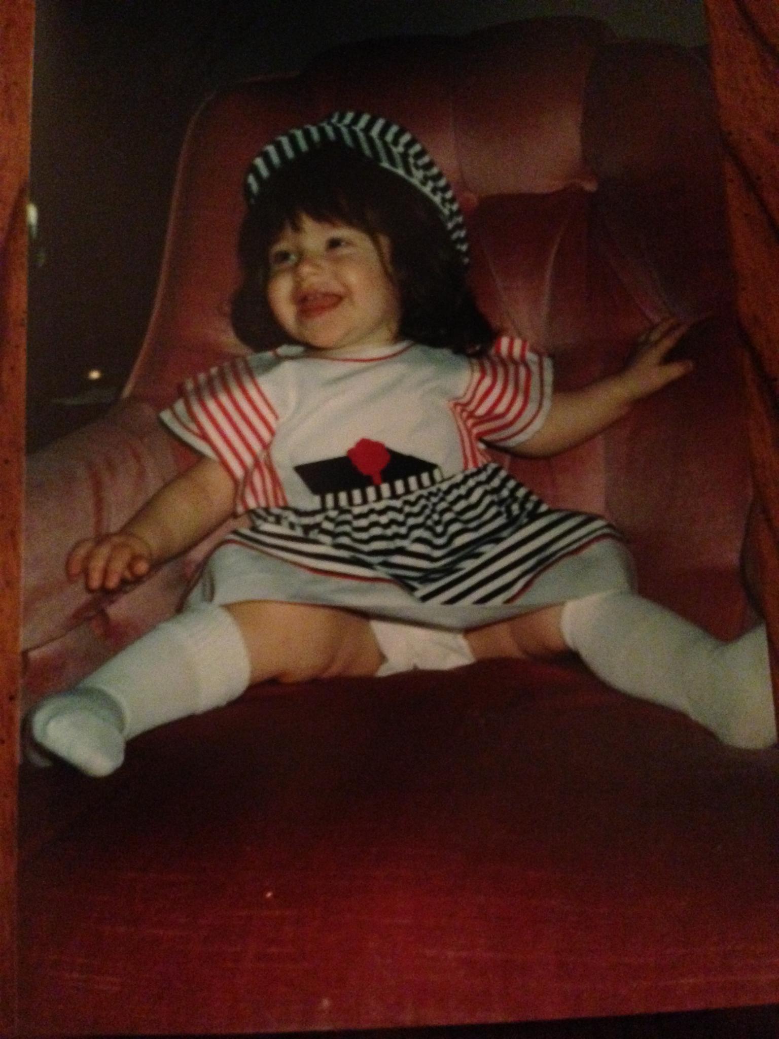 Baby sailor Danielle