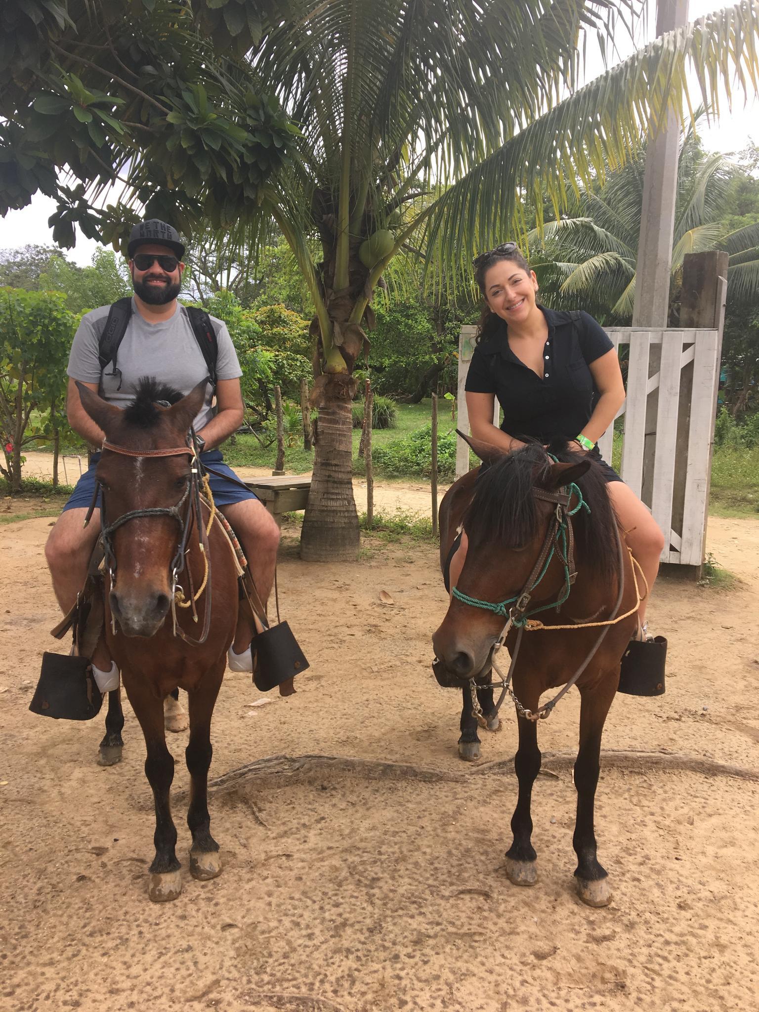 Horseback riding in Roatun