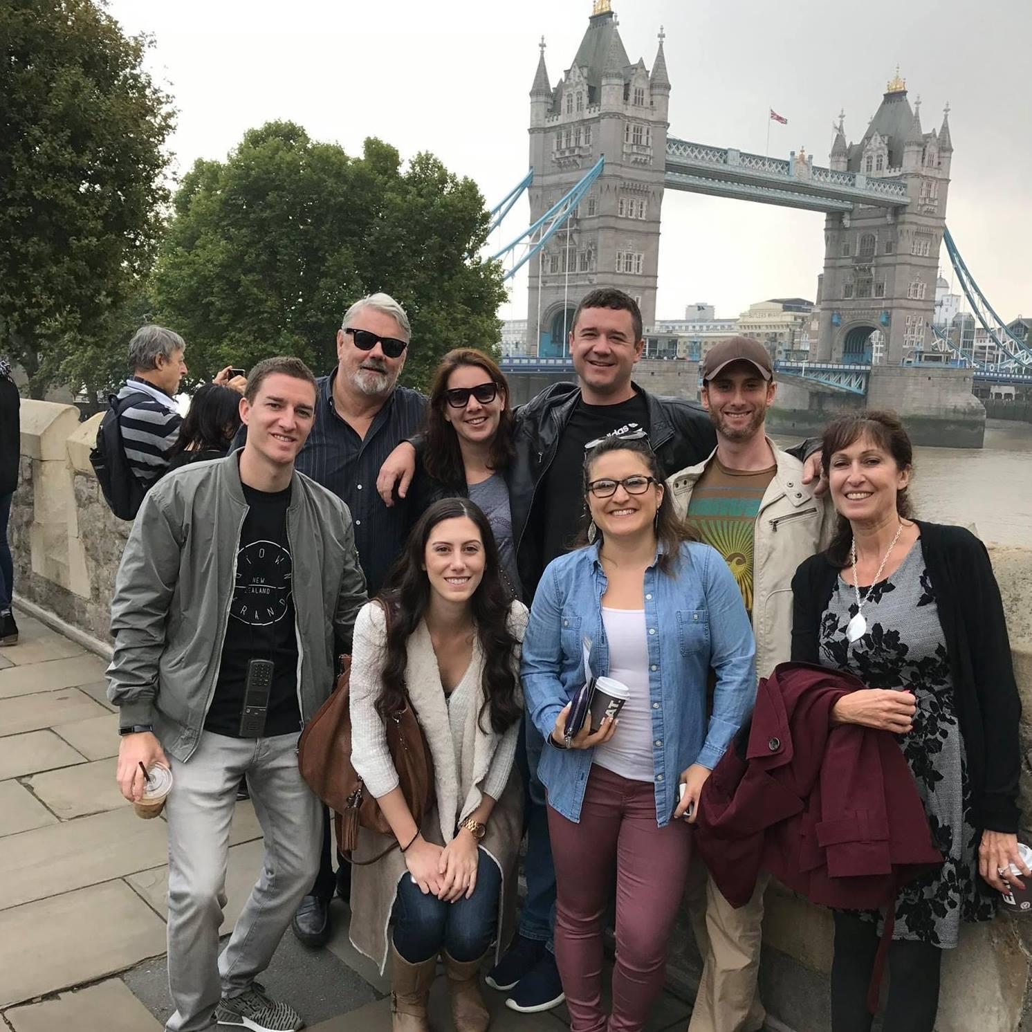 Family time in London