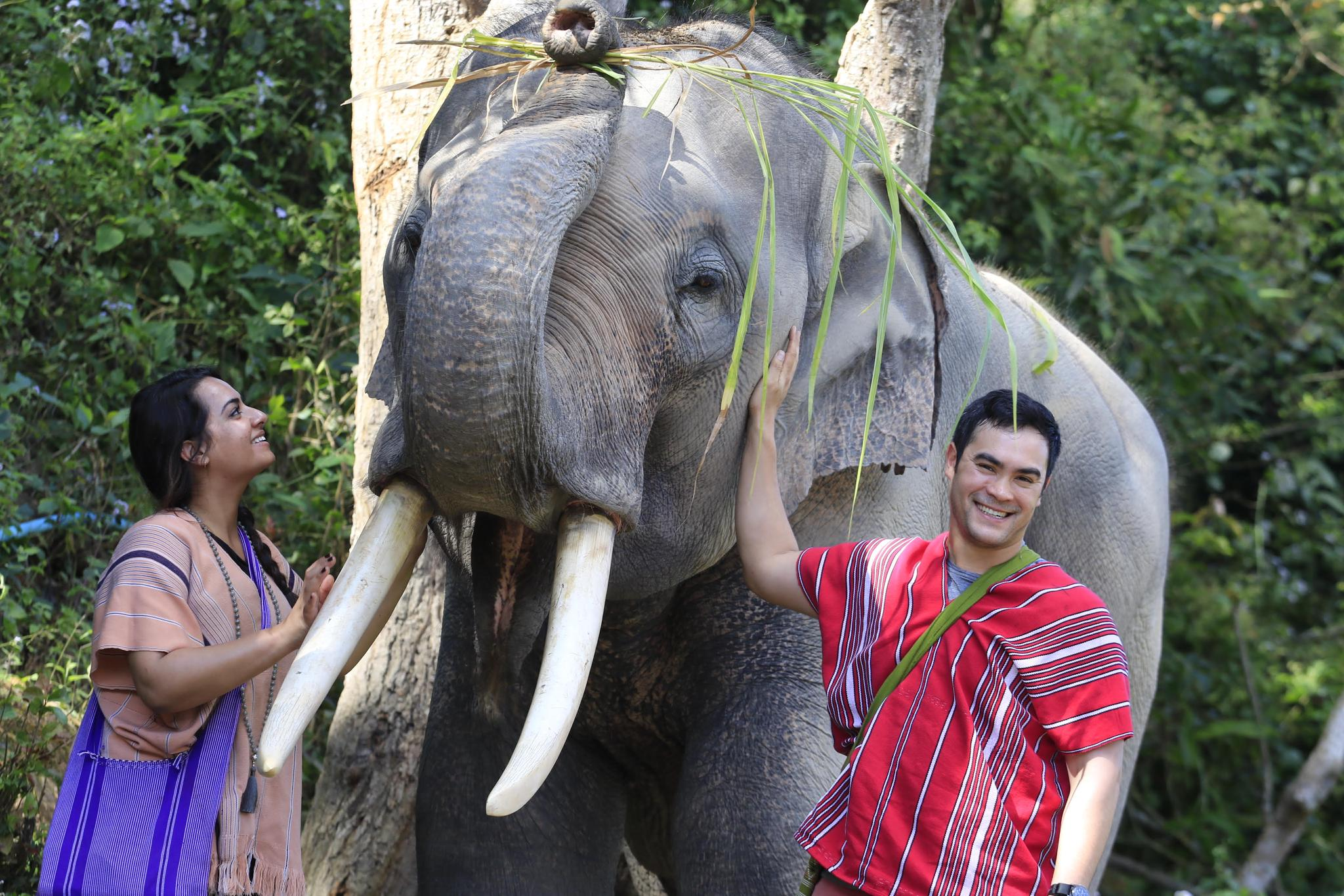 One of the best days ever! Eric gifted Sonal a full day and night with Karen Tribe Native Elephants. An organization rescuing elephants, Sonal's favorite animal. There isn't a single photo where Sonal isn't staring at the majestic animals with an ear to ear smile. Eric definitely nailed it.