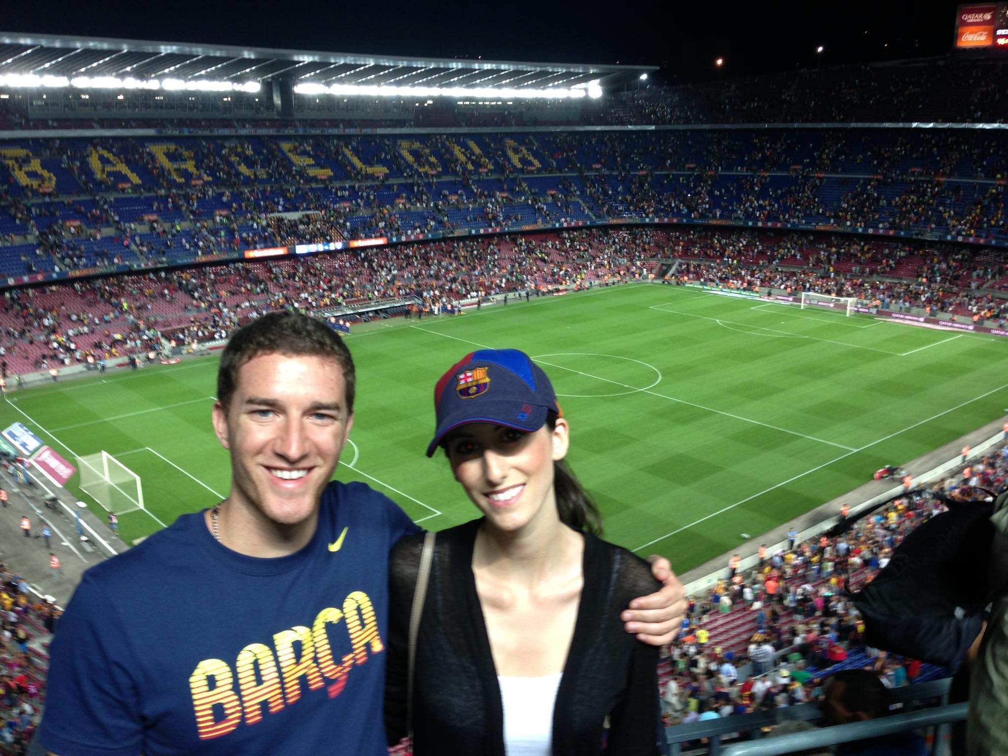 FC Barcelona match at Camp Nou - Barcelona, Spain
