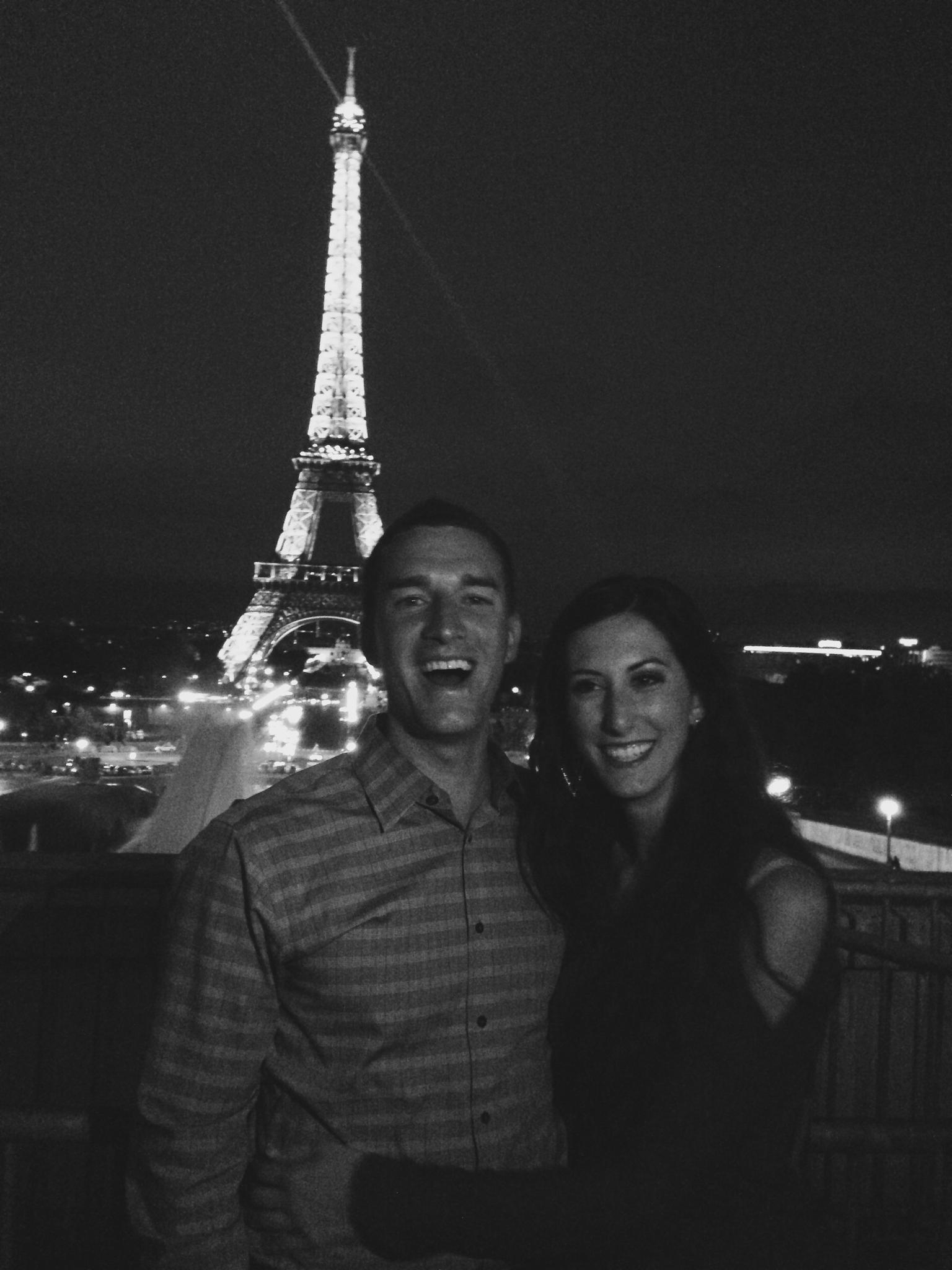 Our 3rd anniversary - Paris, France