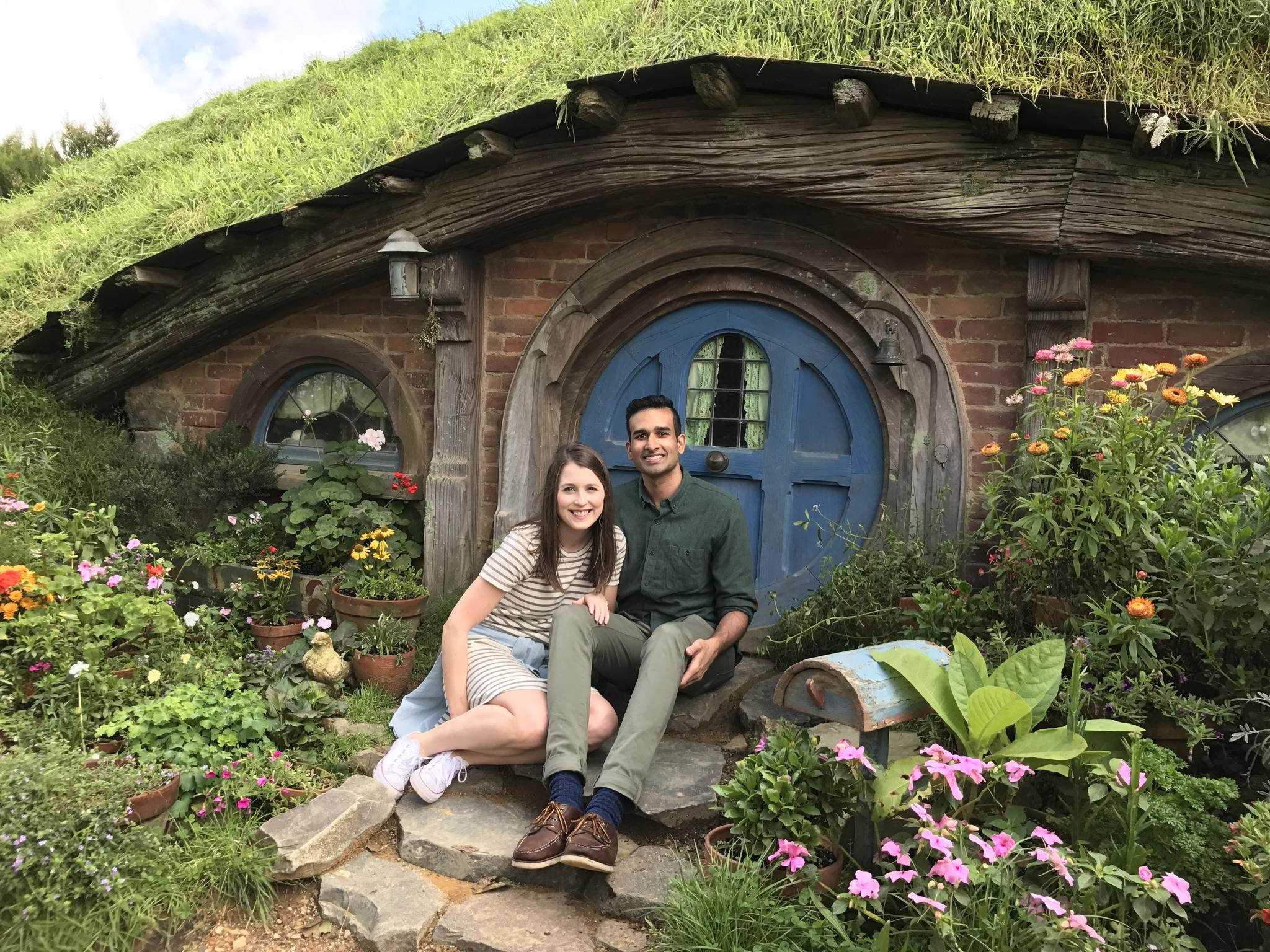 Shawn's Lord of the Rings dreams came true on our trip to The Shire in New Zealand