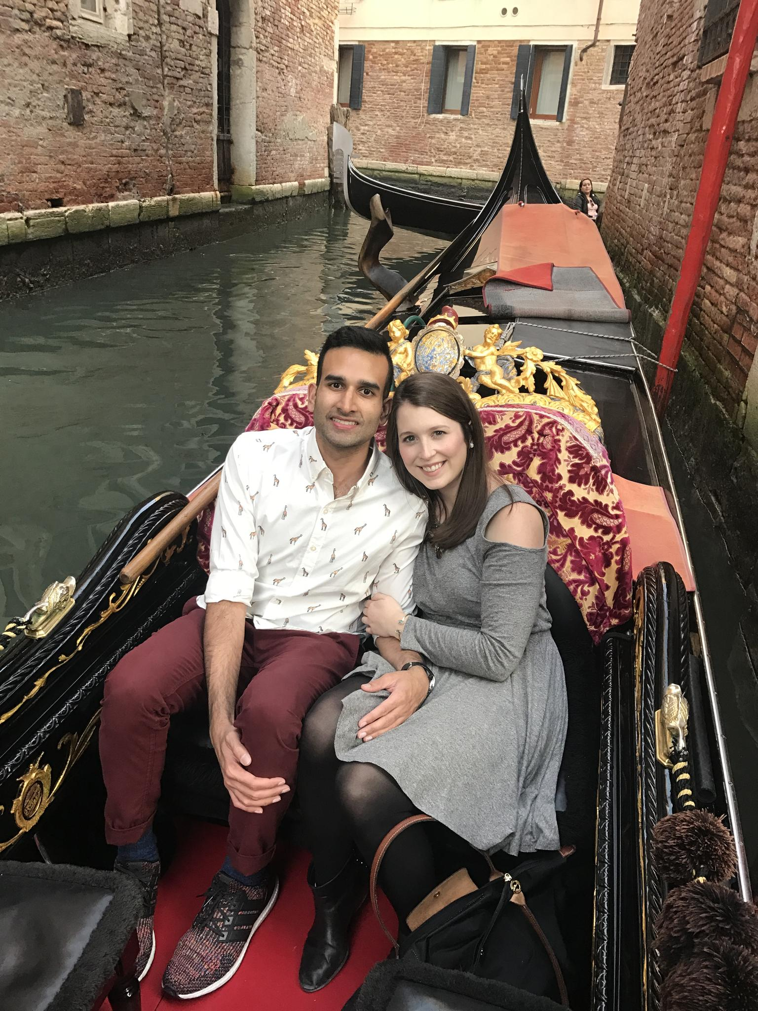 No trip to Venice is complete without a gondola ride through the romantic maze of canals :)