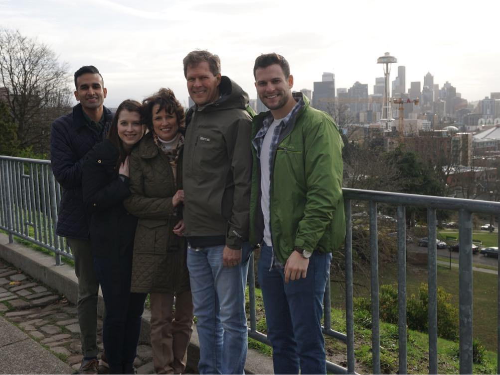 We loved having visitors for our first Thanksgiving in Seattle!