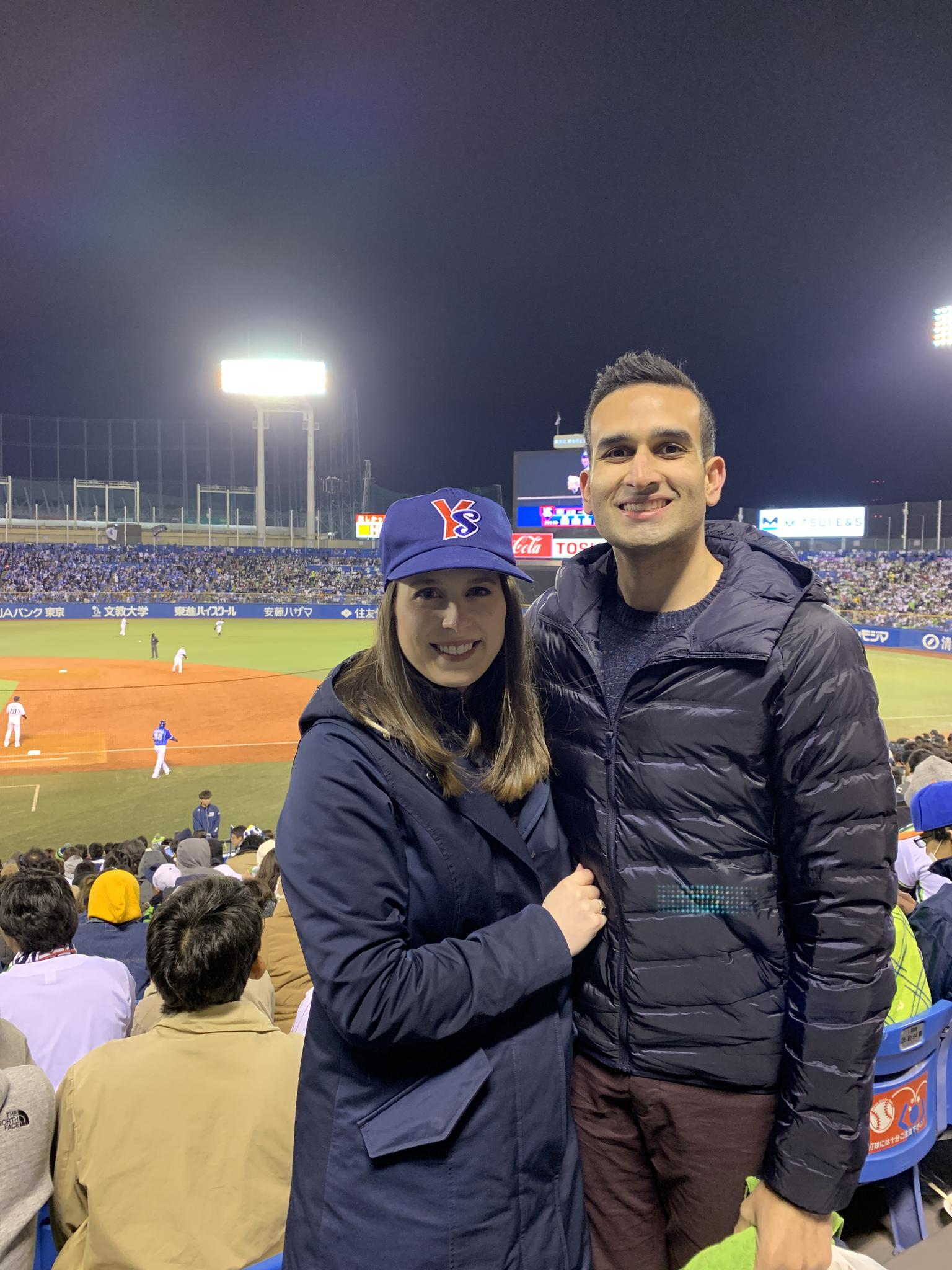 After our Japan trip, we're Yakult Swallows fans! American baseball should definitely take a few pointers from the Nippon Baseball League - so fun!!