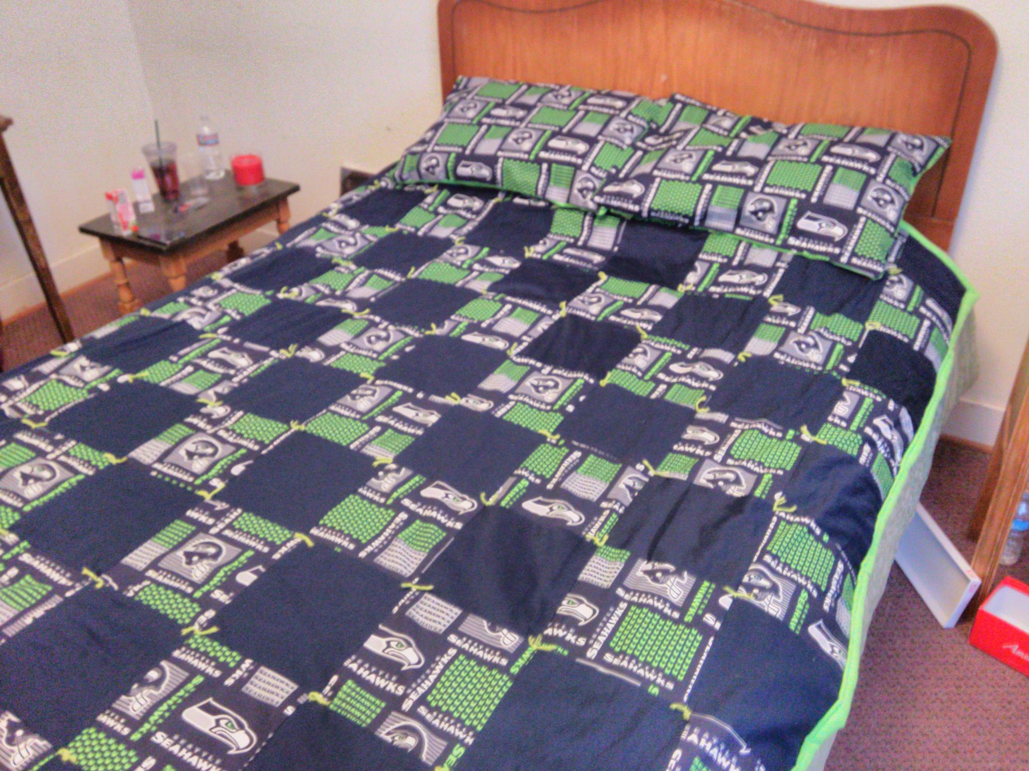 First quilt I ever made. Symes, Hots Springs, MT