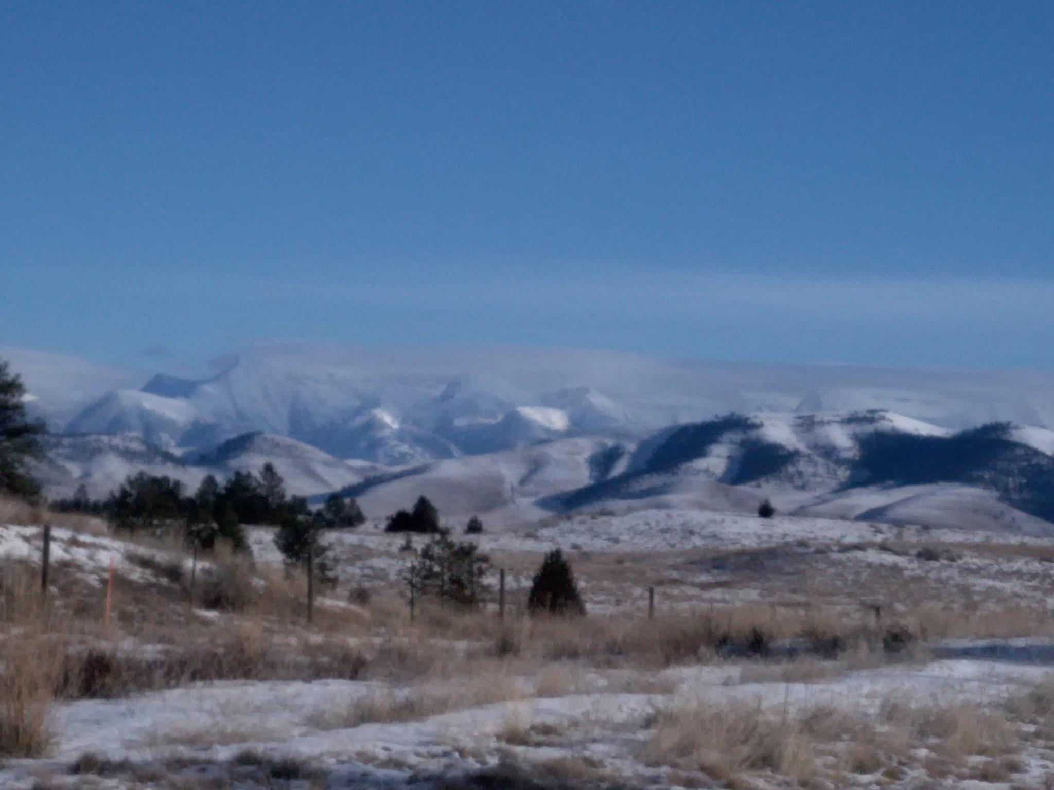 Mountain view. Somewhere between Paradise and Missoula, MT