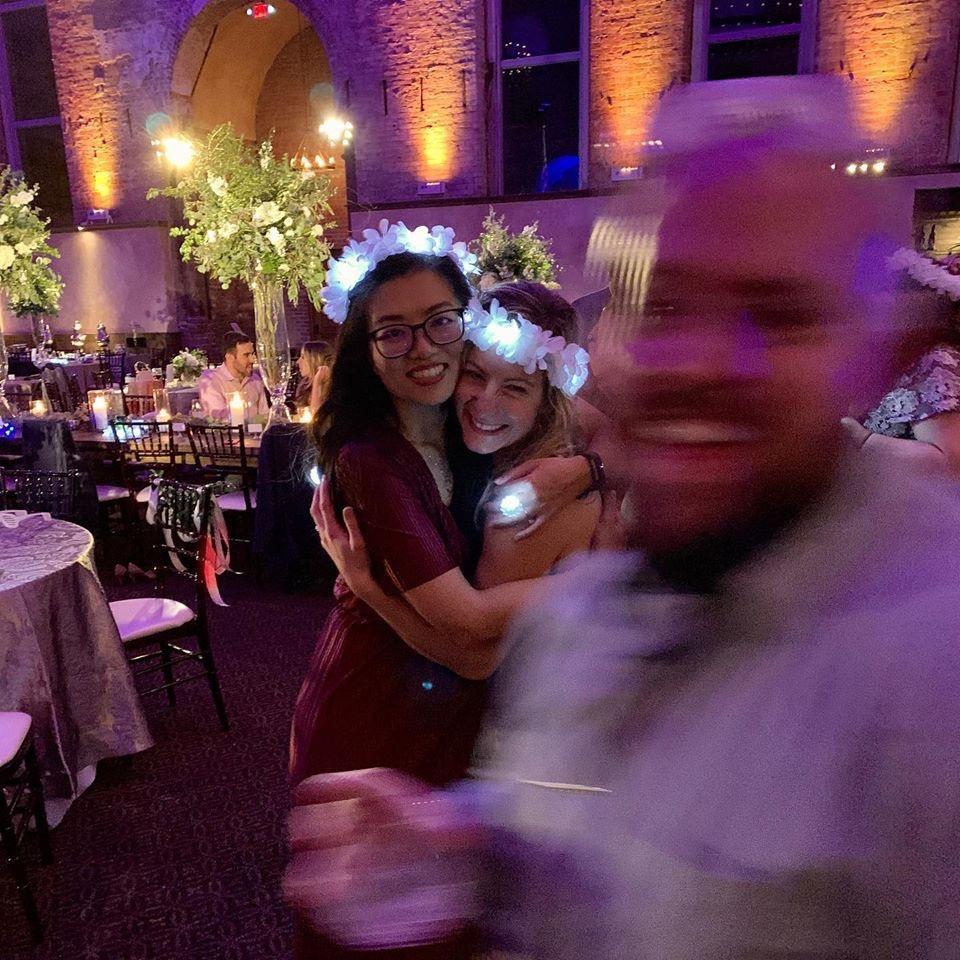 Celebrating Missy and Brendan's wedding