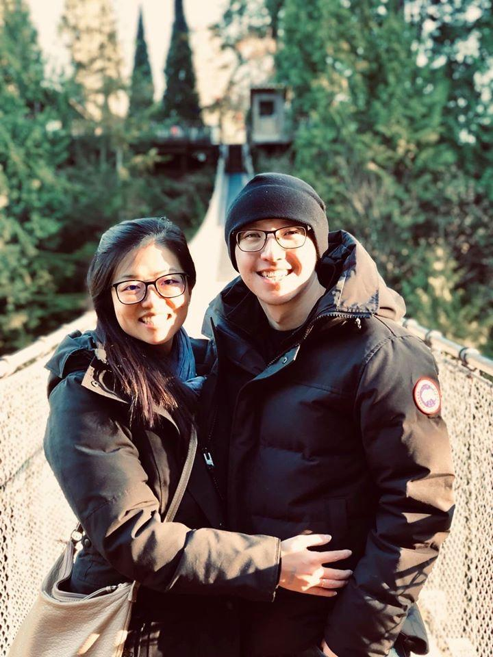 First time in Vancouver, Canada and we went to the Capilano Suspension Bridge to see the holiday lights