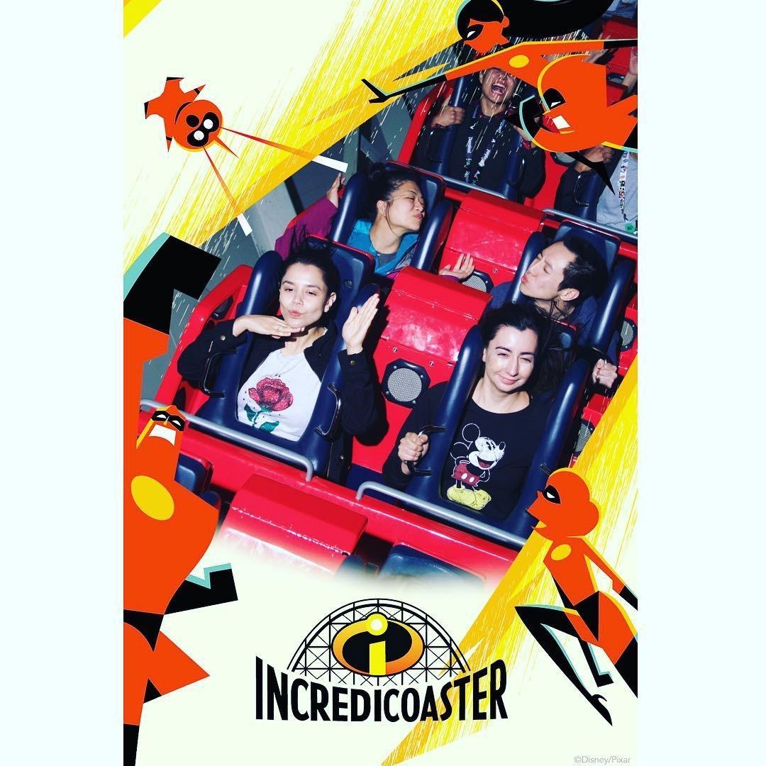 The One Where Lisa Learns To Take a Picture on the Incredicoaster ♡
