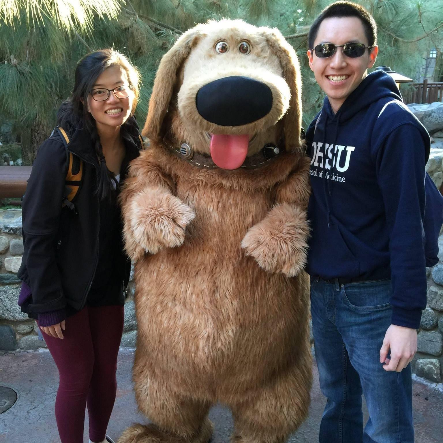 Disneyland — We found Doug! We couldn't find Russell though :(