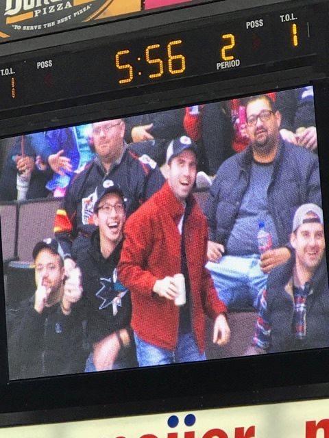 On the big screen O.O