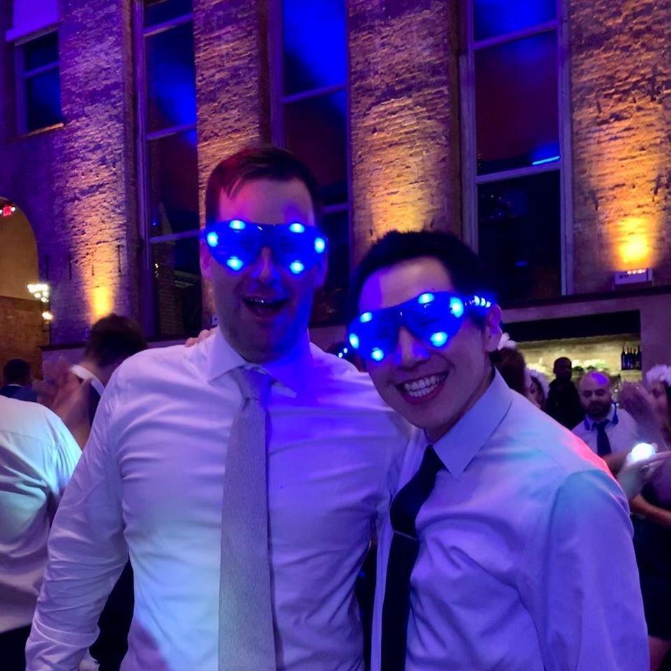 Celebrating Brendan and Missy's wedding