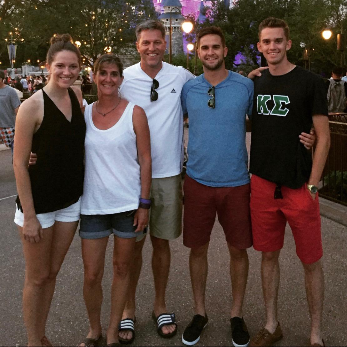 The Foreman Family! Left to Right: Amanda, Paula, Jim, Scott, and David