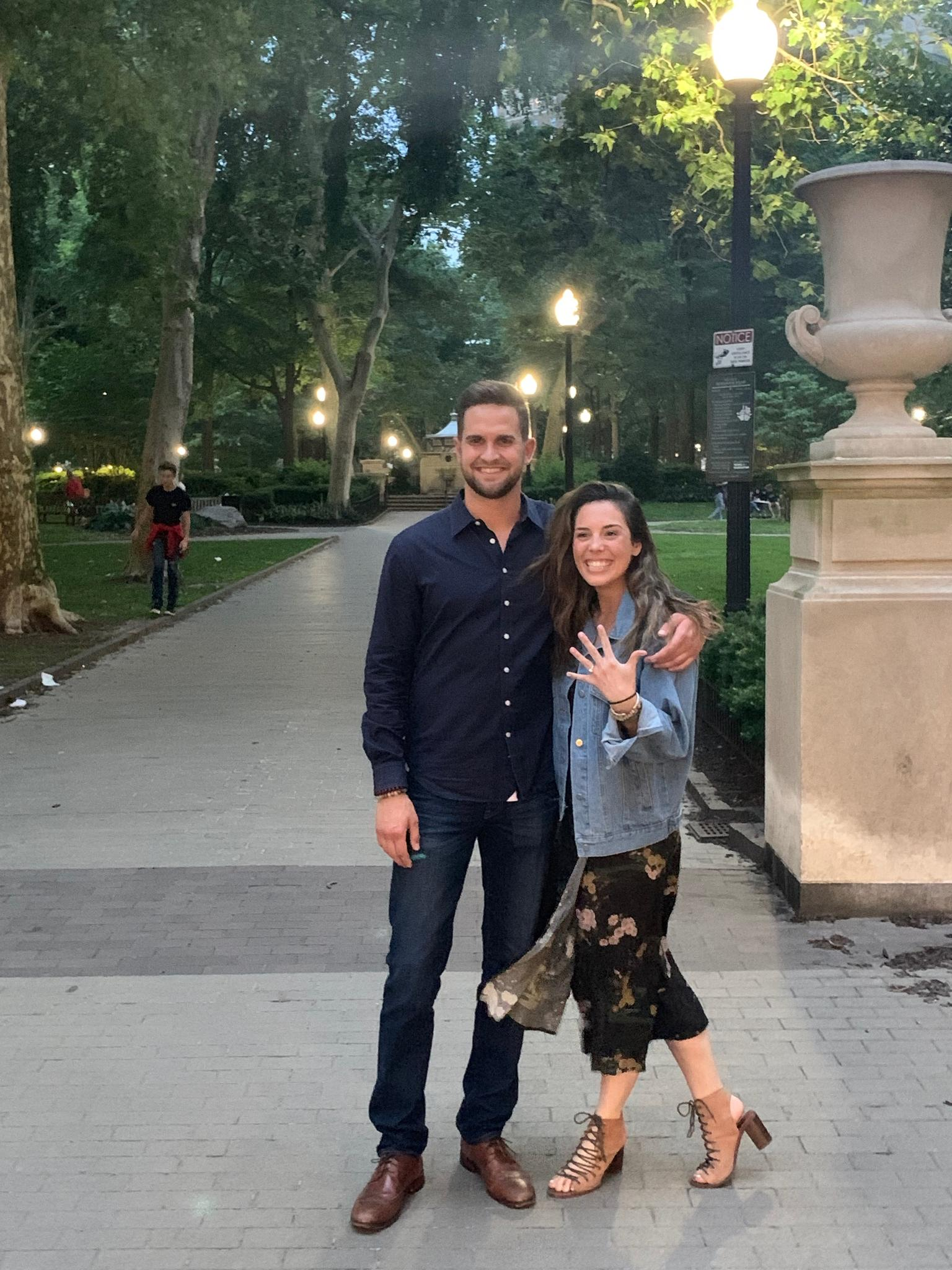 Scott popped the question! On June 15, 2019, Scott took Taylor to her favorite street in Philadelphia, Delancey St, where he got down on one knee and asked her to marry him.