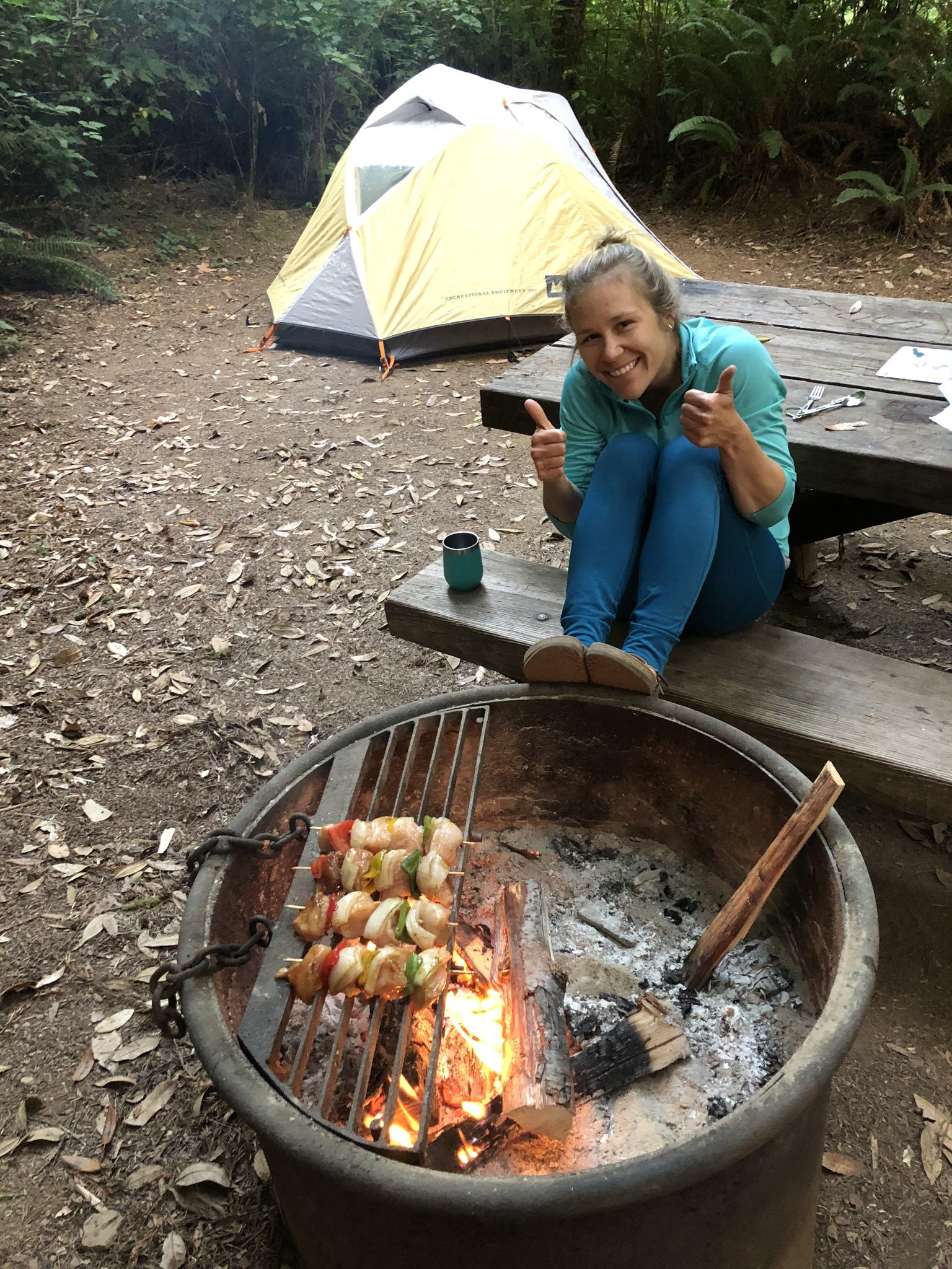 Camping, Redwood National Forest, CA, 2018