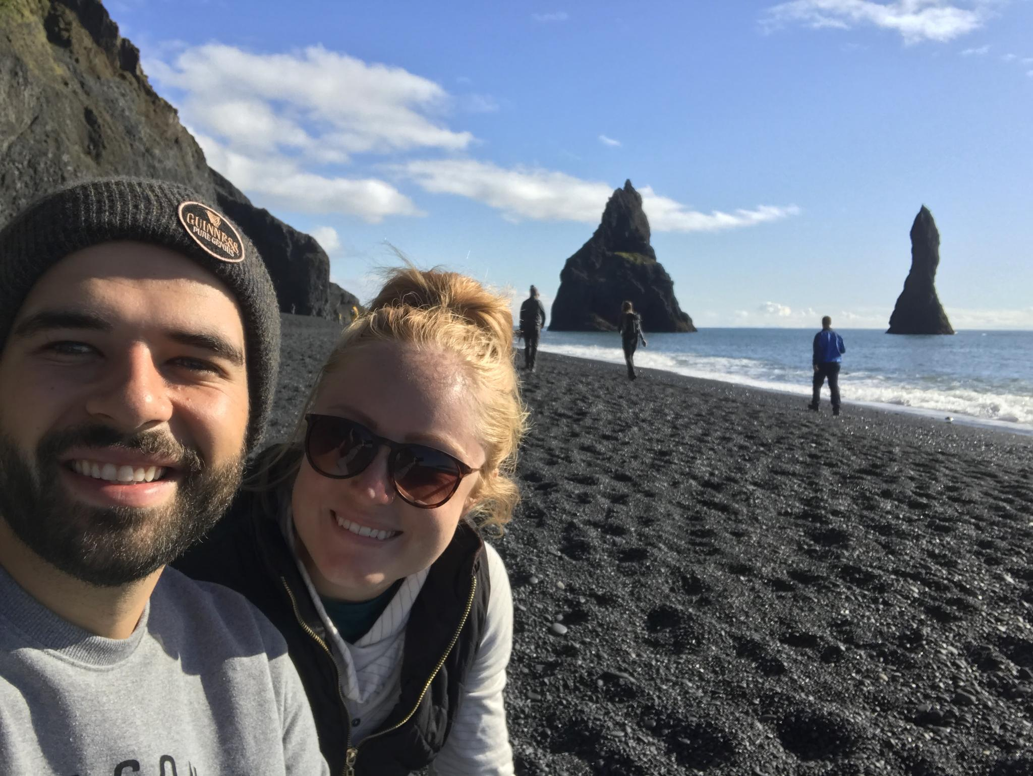 Reynisfjara (Black Sand Beach) - Vik, Iceland