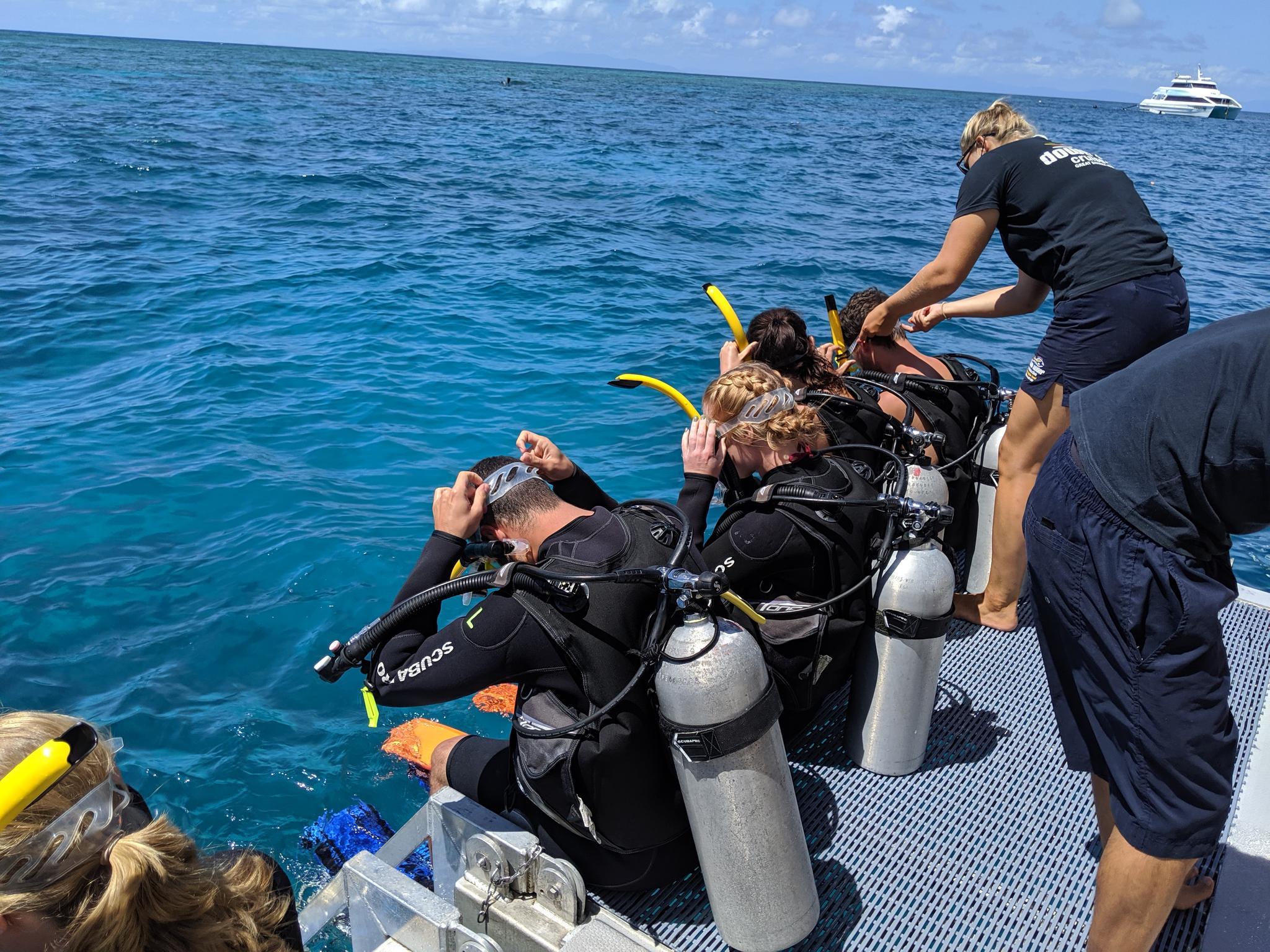 Scuba Diving - Great Barrier Reef, Australia