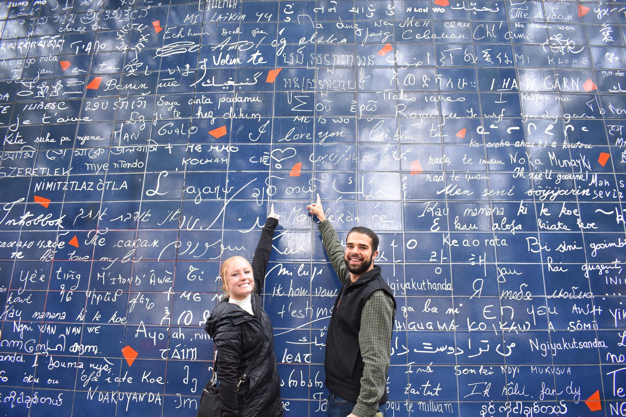 Wall of Love - Paris, France