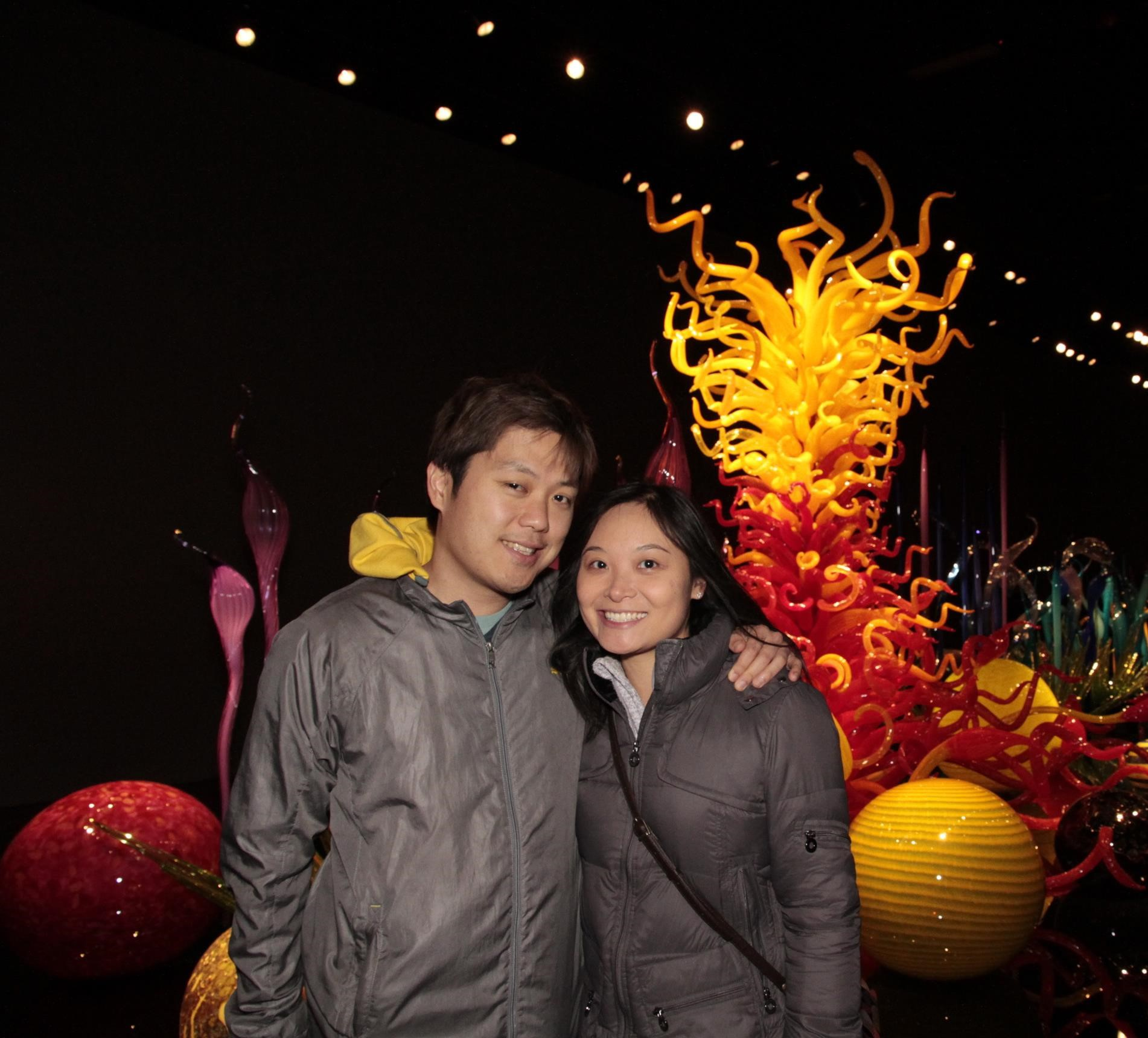 Chihuly Museum in Seattle