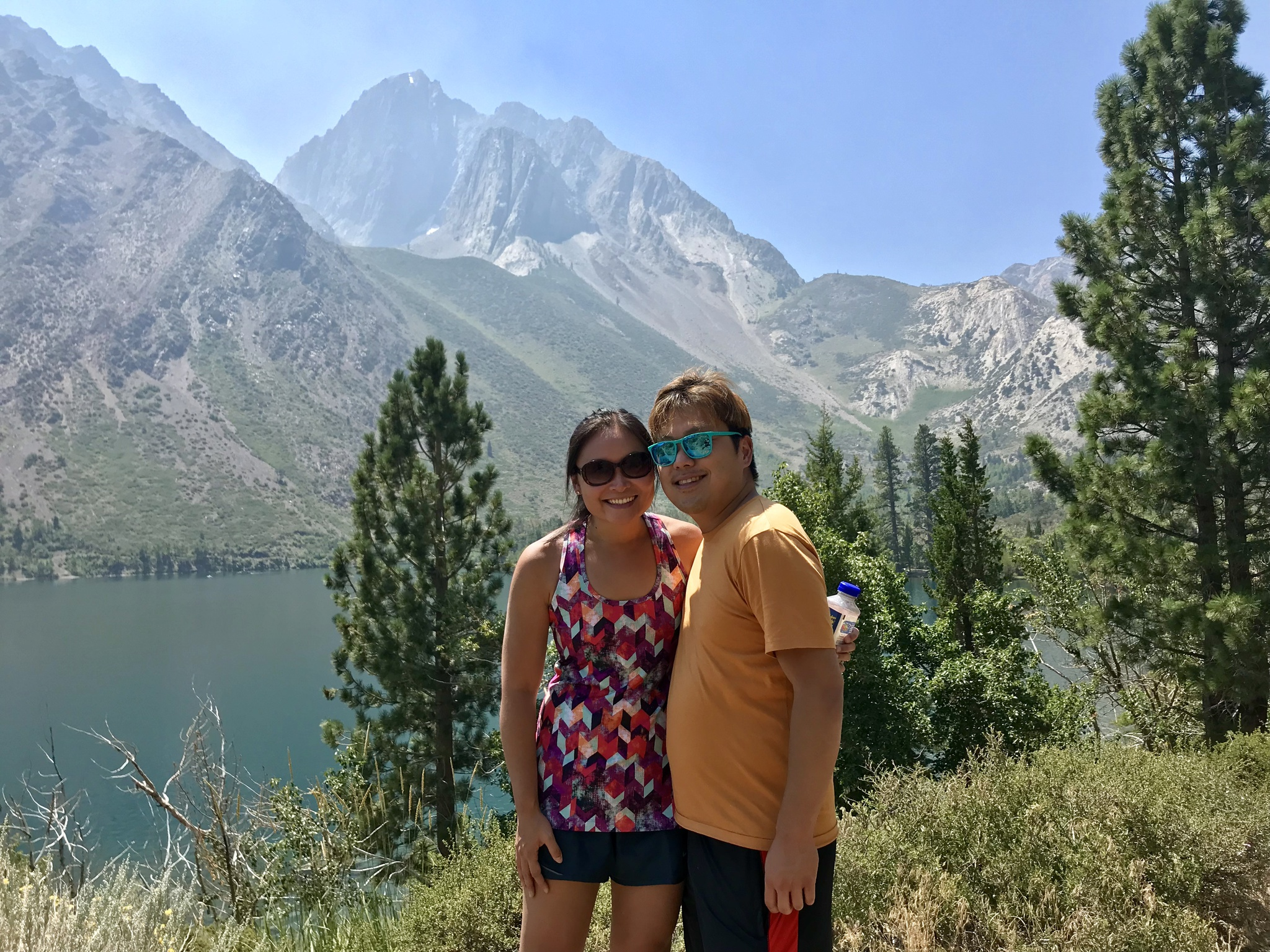 Hiking in Mammoth Lakes, CA