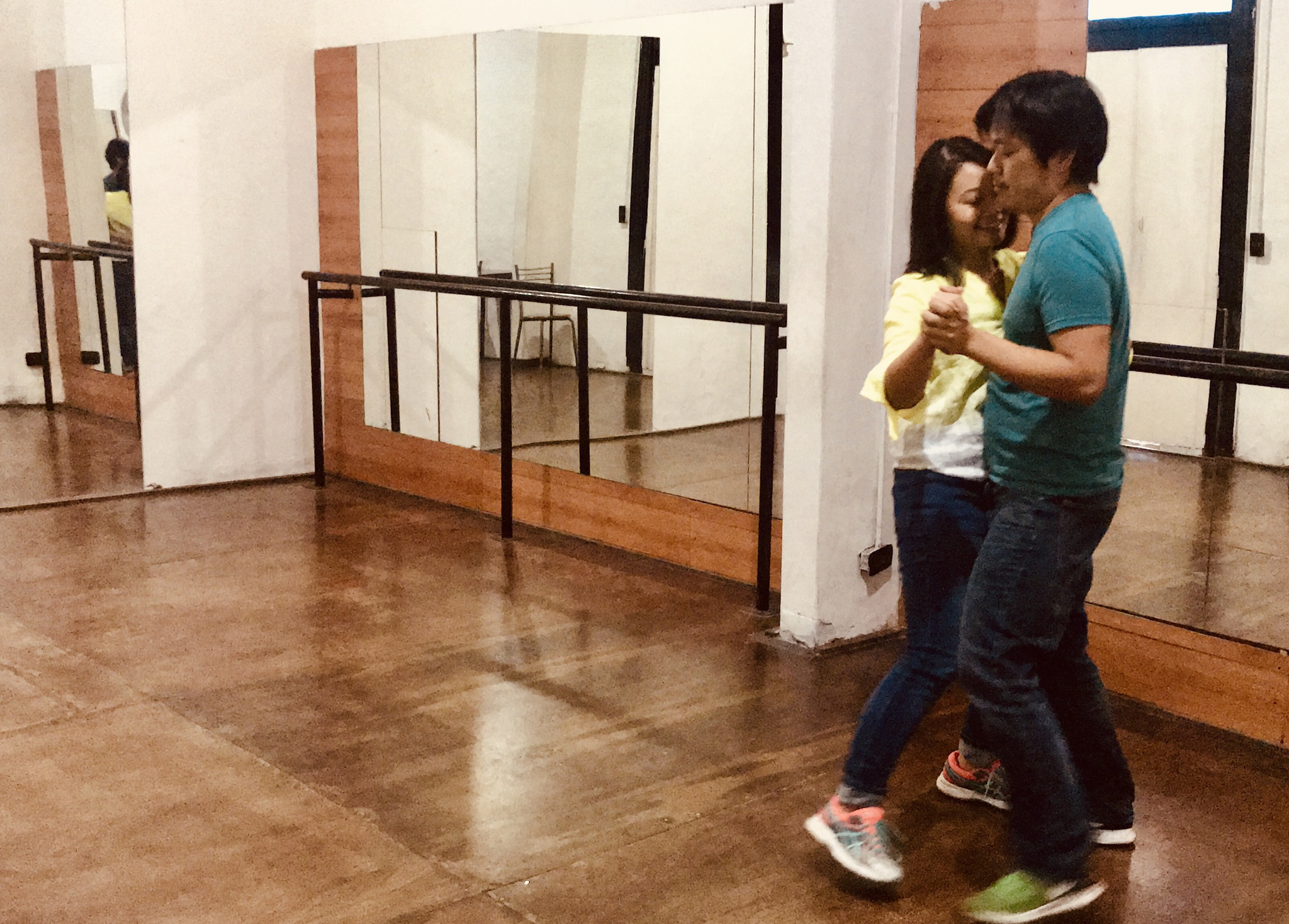 Learning to tango in Buenos Aires