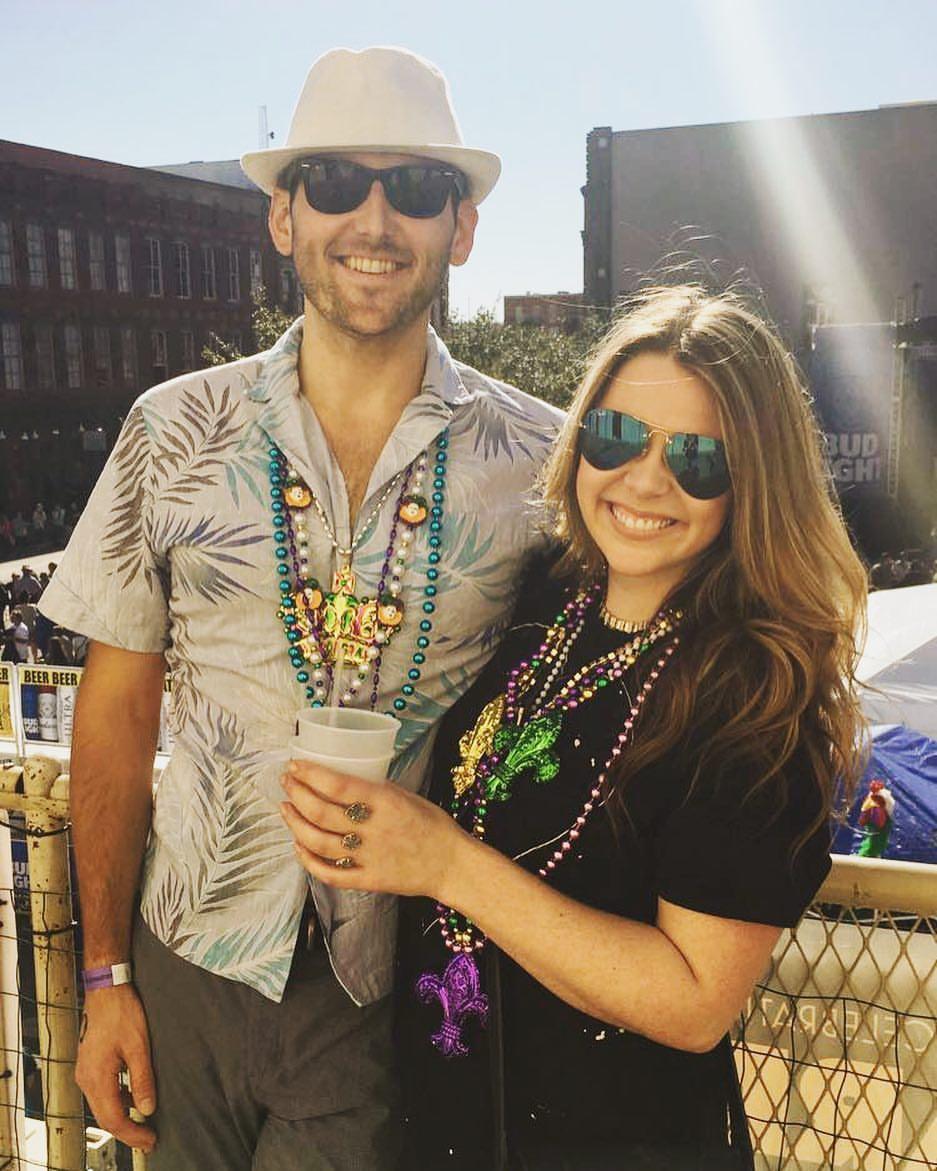 Our First Trip together - Galveston, TX Mardi Gras 2017