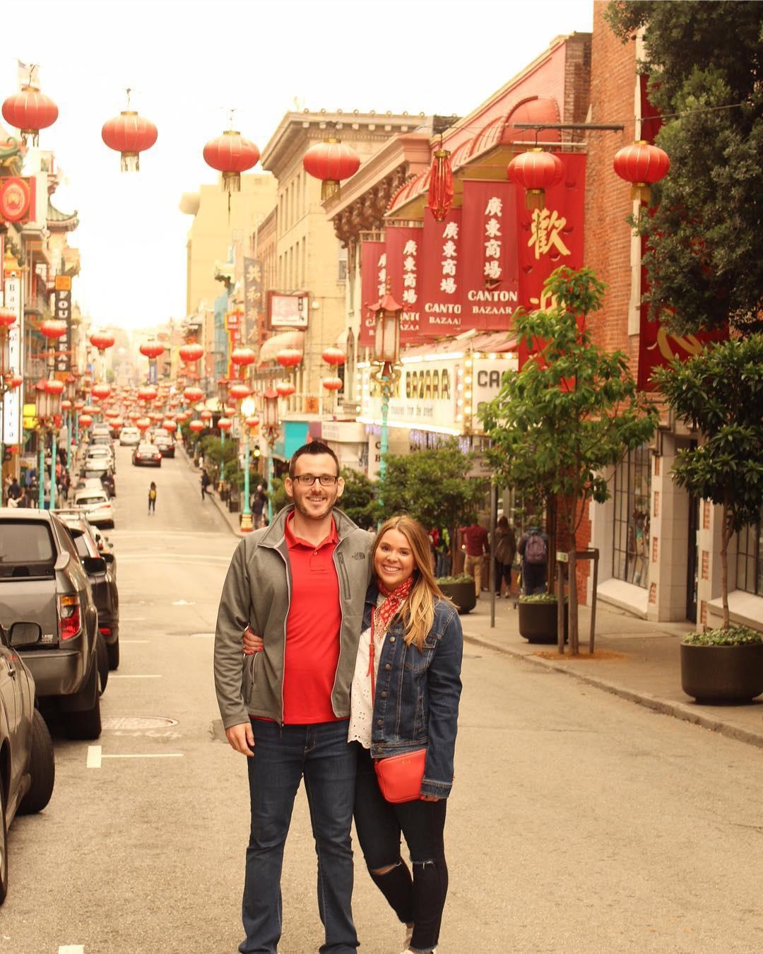 China Town in San Francisco, CA