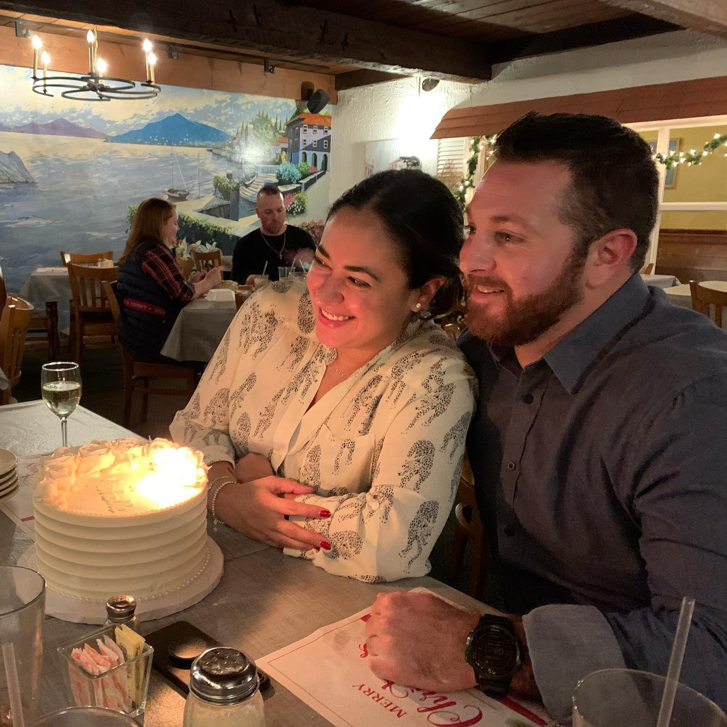 Celebrating our civil marriage on December 27, 2019 at Il Camino.